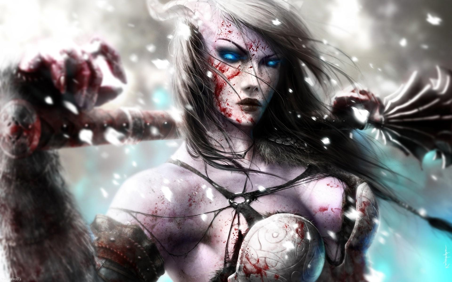 Female dark fantasy smut scene