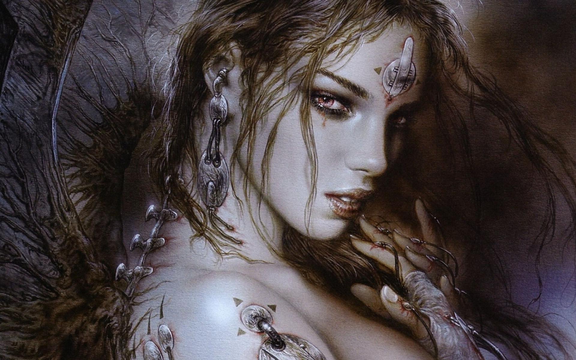 1920x1200 px fantasy art Luis Royo