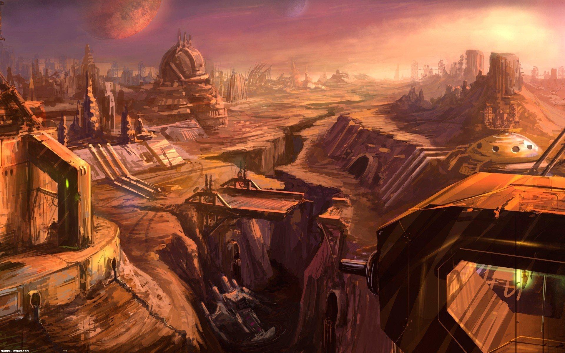 Wallpaper 1920x1200 Px Ruin Science Fiction 1920x1200