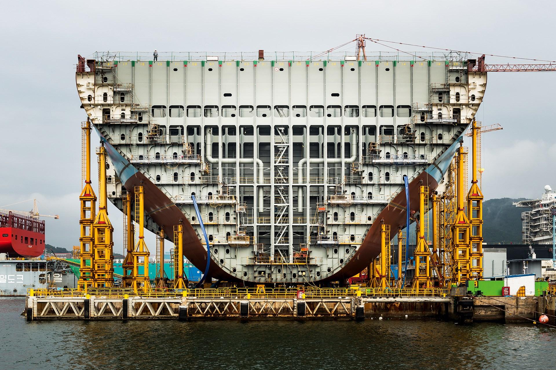 фотографии трюма морского грузового корабля всё великолепие
