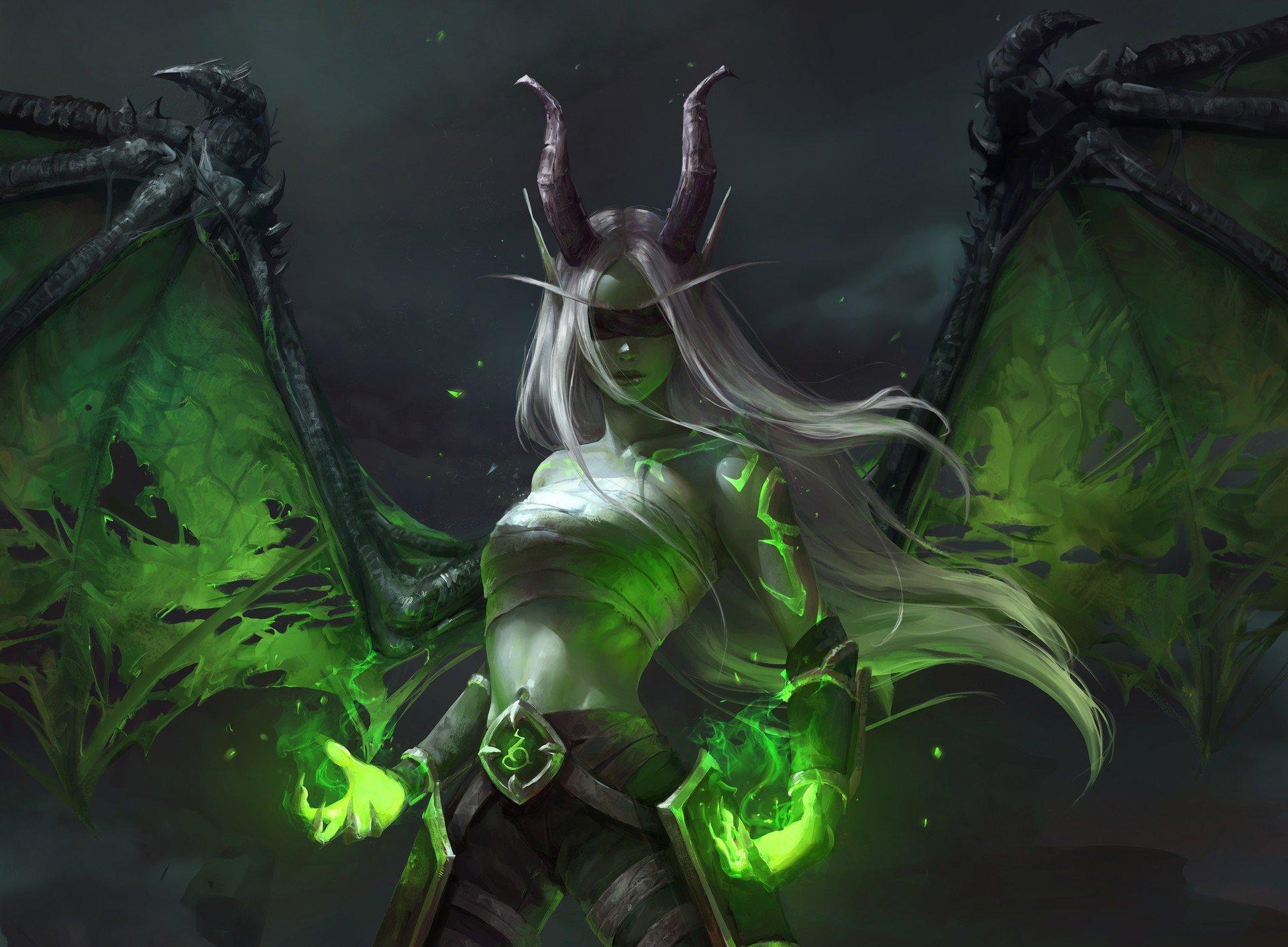 wallpaper 1920x1412 px blood elf demon demon hunter illidari
