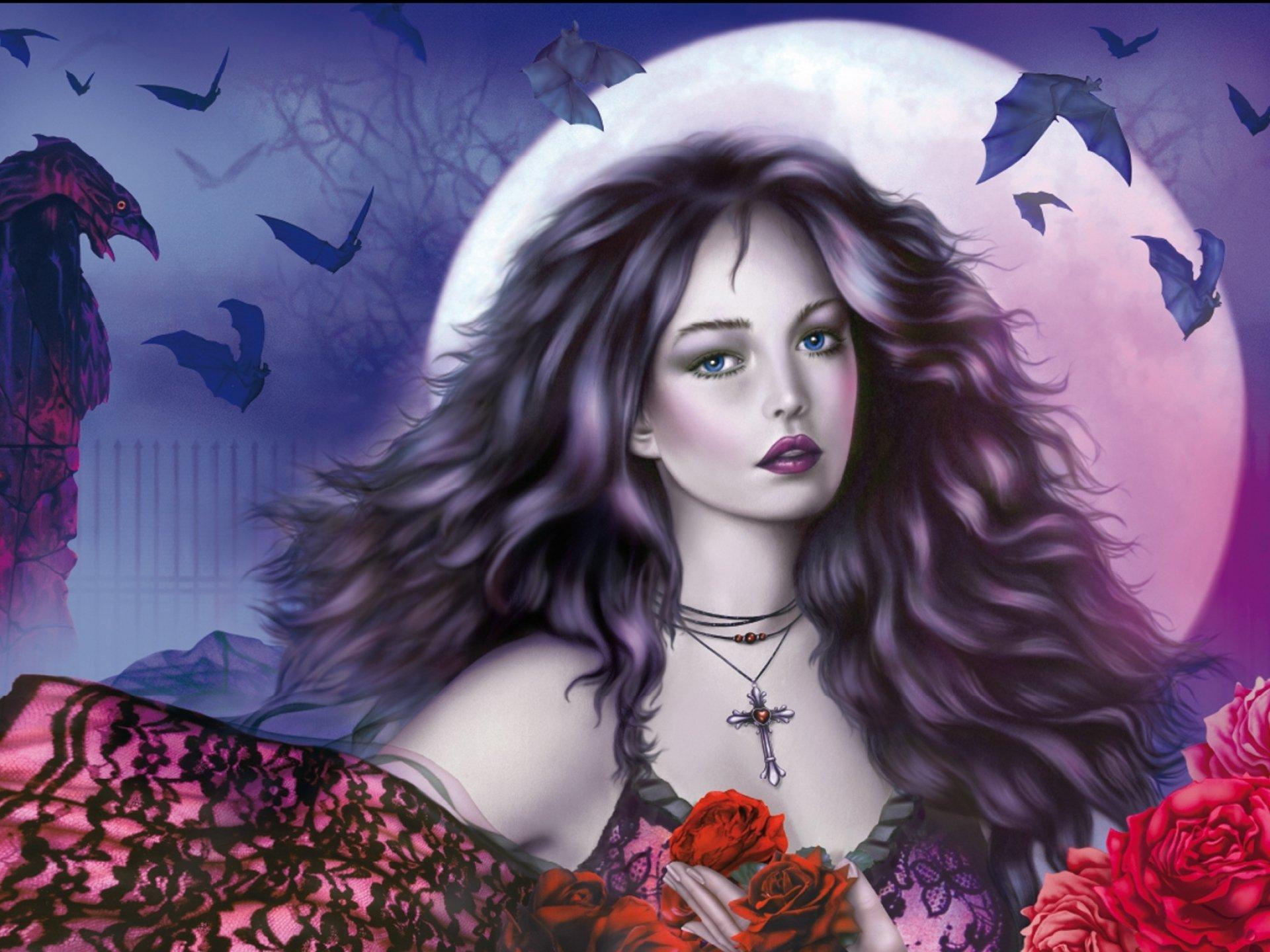 wallpaper 1920x1440 px art artwork dark evil fantasy girl