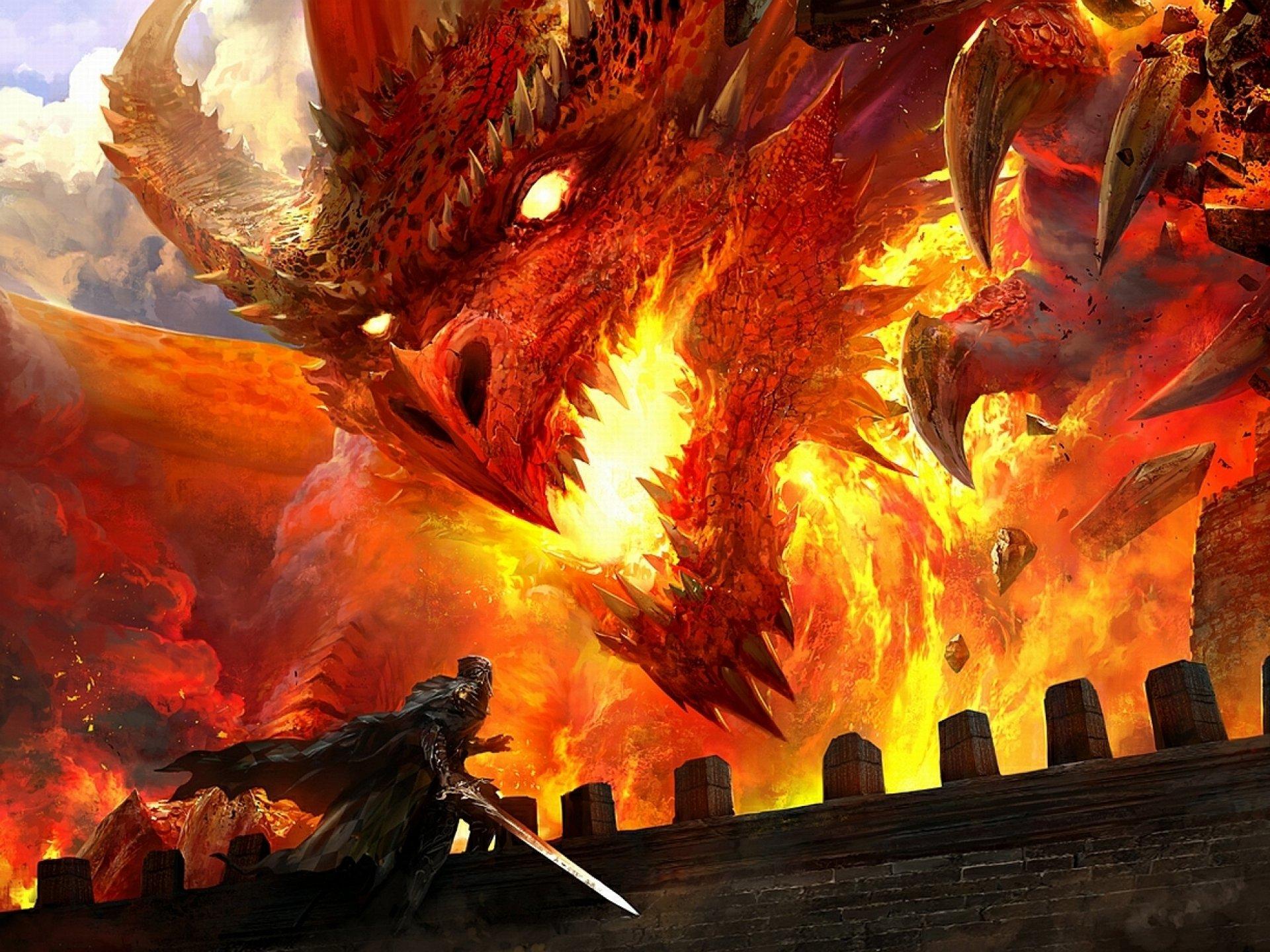 драконы в огне картинки манеж выкатывают две