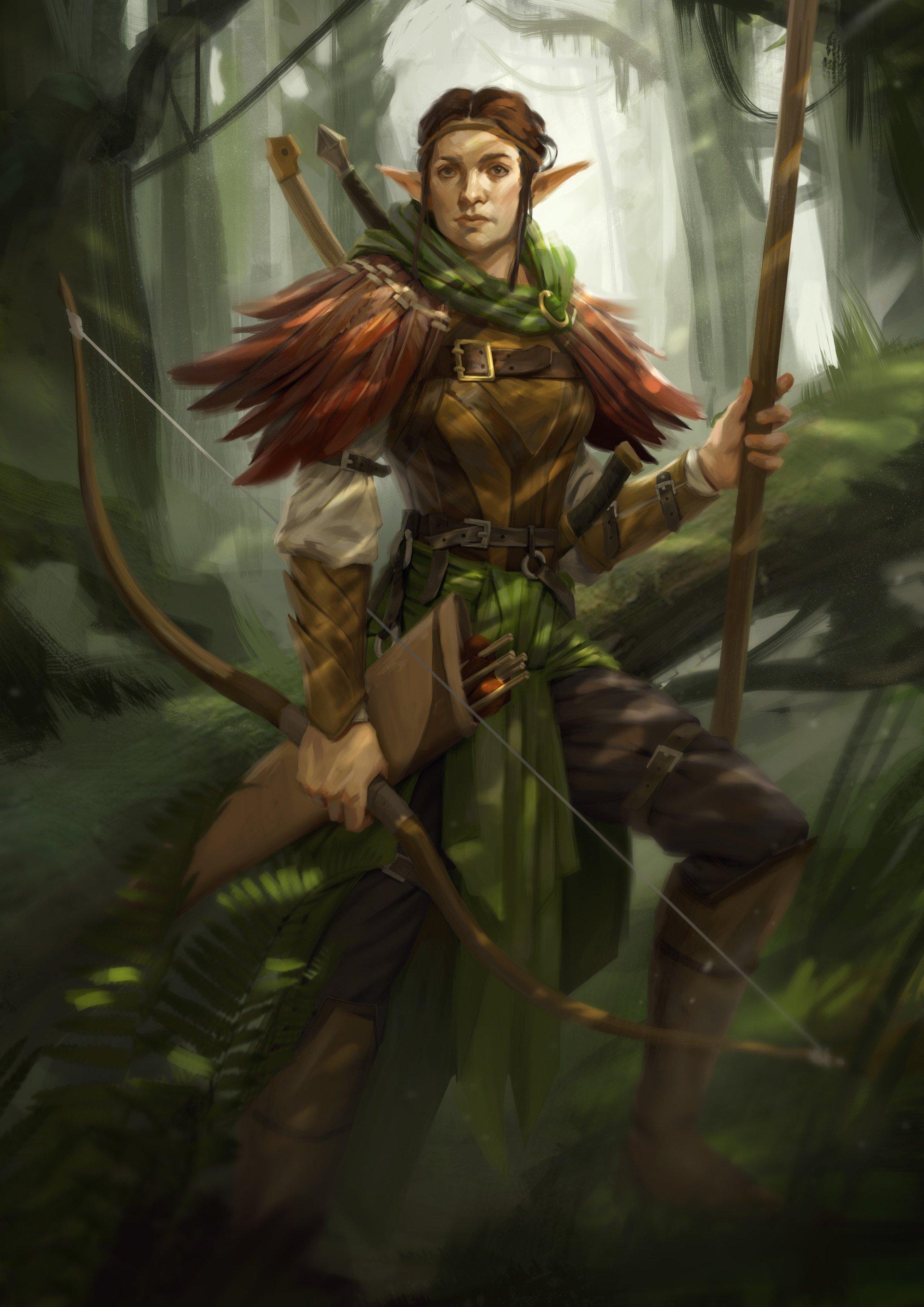 Fantasy Elf Art