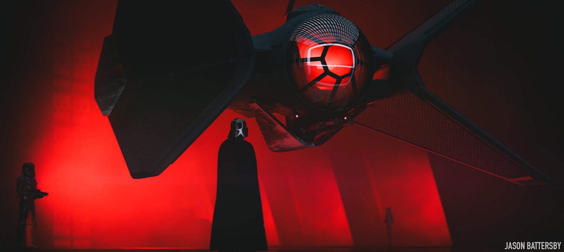 Wallpaper 1920x859 Px Concept Art Darth Vader Digital Art Jason Battersby Red Star Wars Tie Fighter 1920x859 Coolwallpapers 1435713 Hd Wallpapers Wallhere