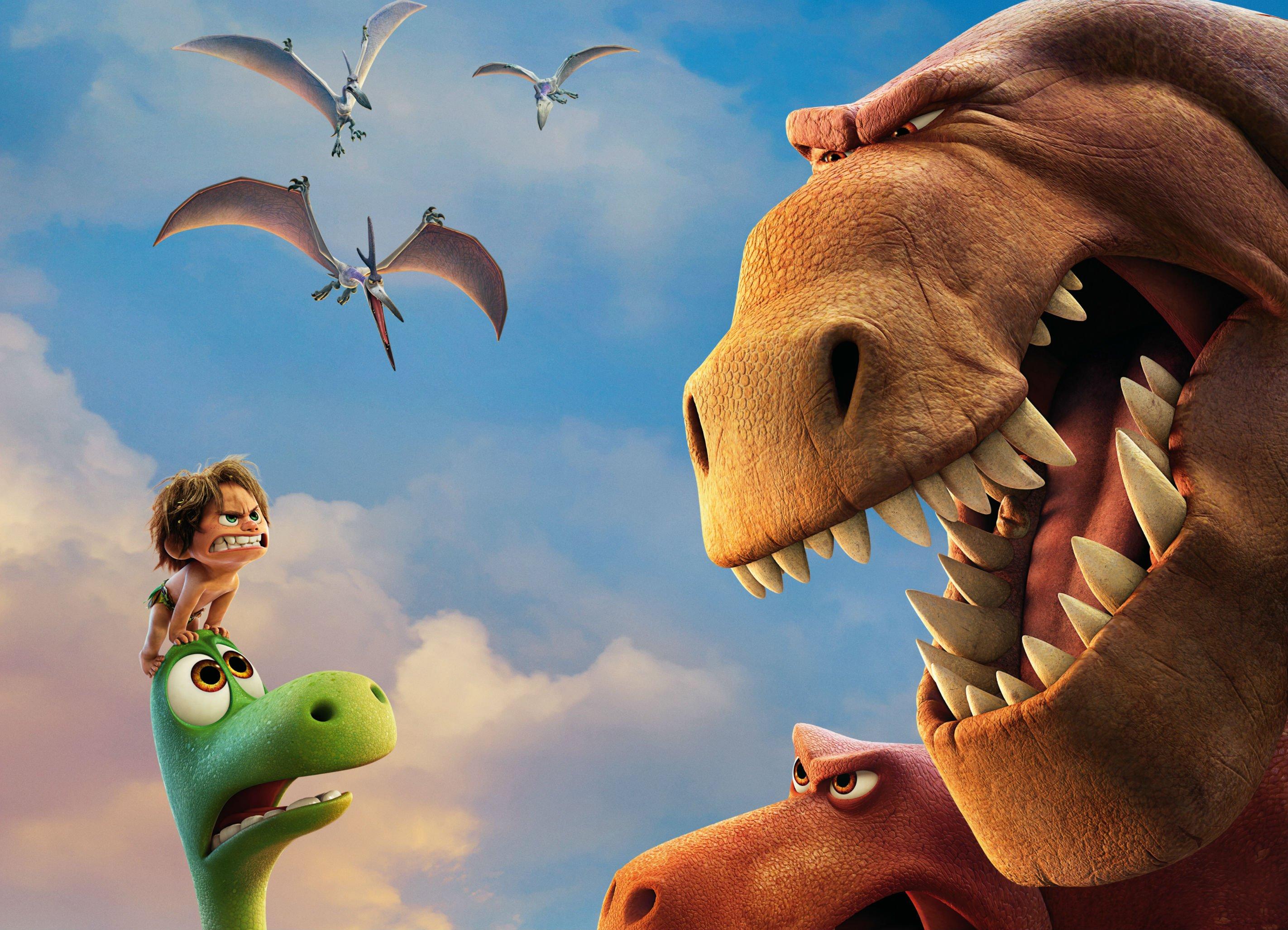 Мультфильмы про динозавров и драконов анимация