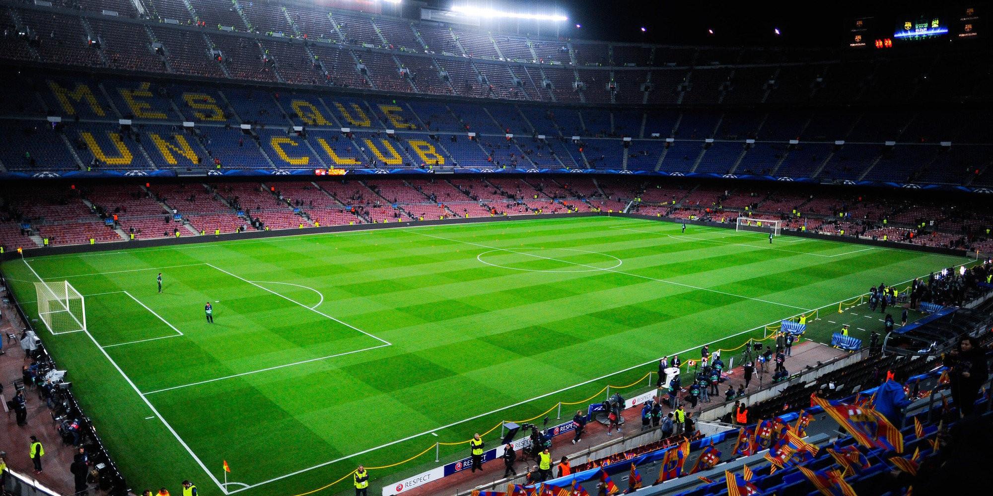 Papel De Parede : 2000x1000 Px, Camp Nou, Liga Dos