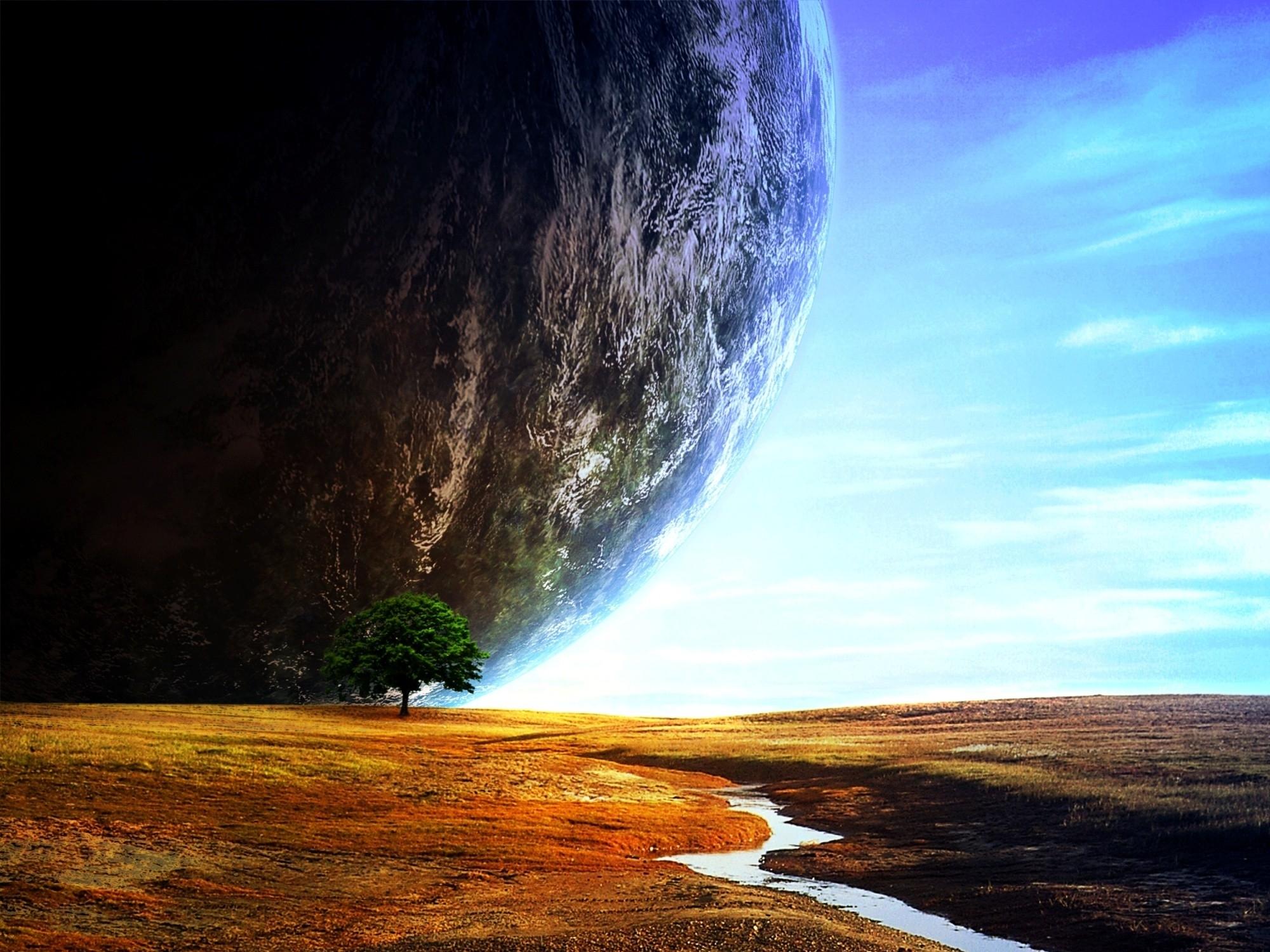 реагируя картинки пейзажи планеты память