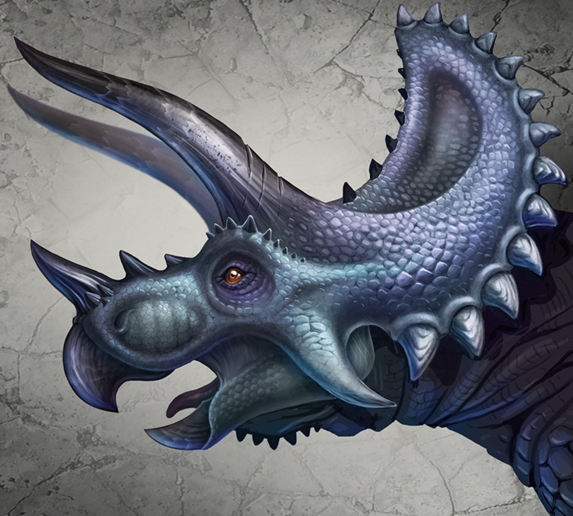 2000x1800 px animals dinosaurs Triceratops