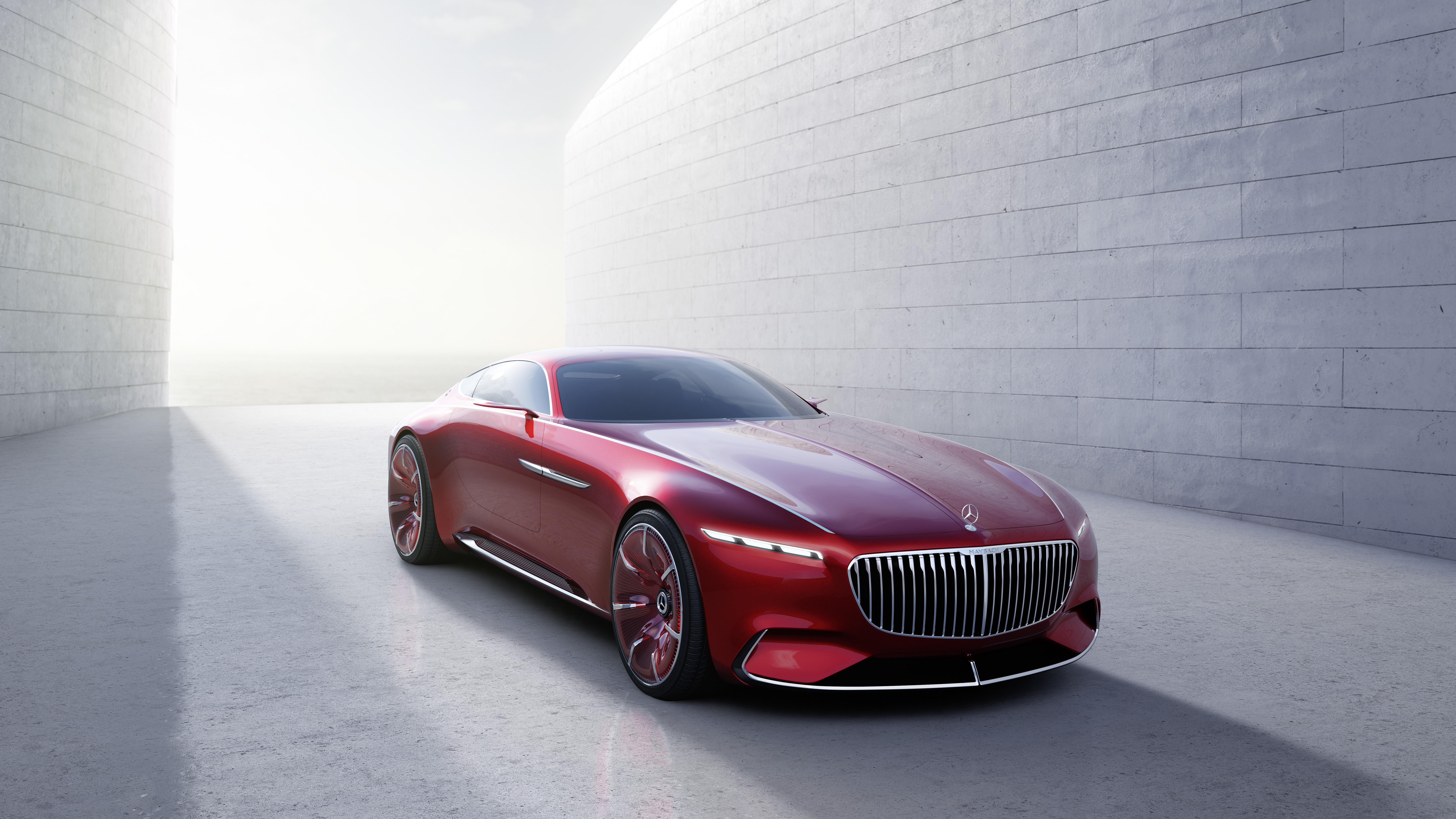 Wallpaper 2017 Mercedes Maybach 6 Vision Netcarshow