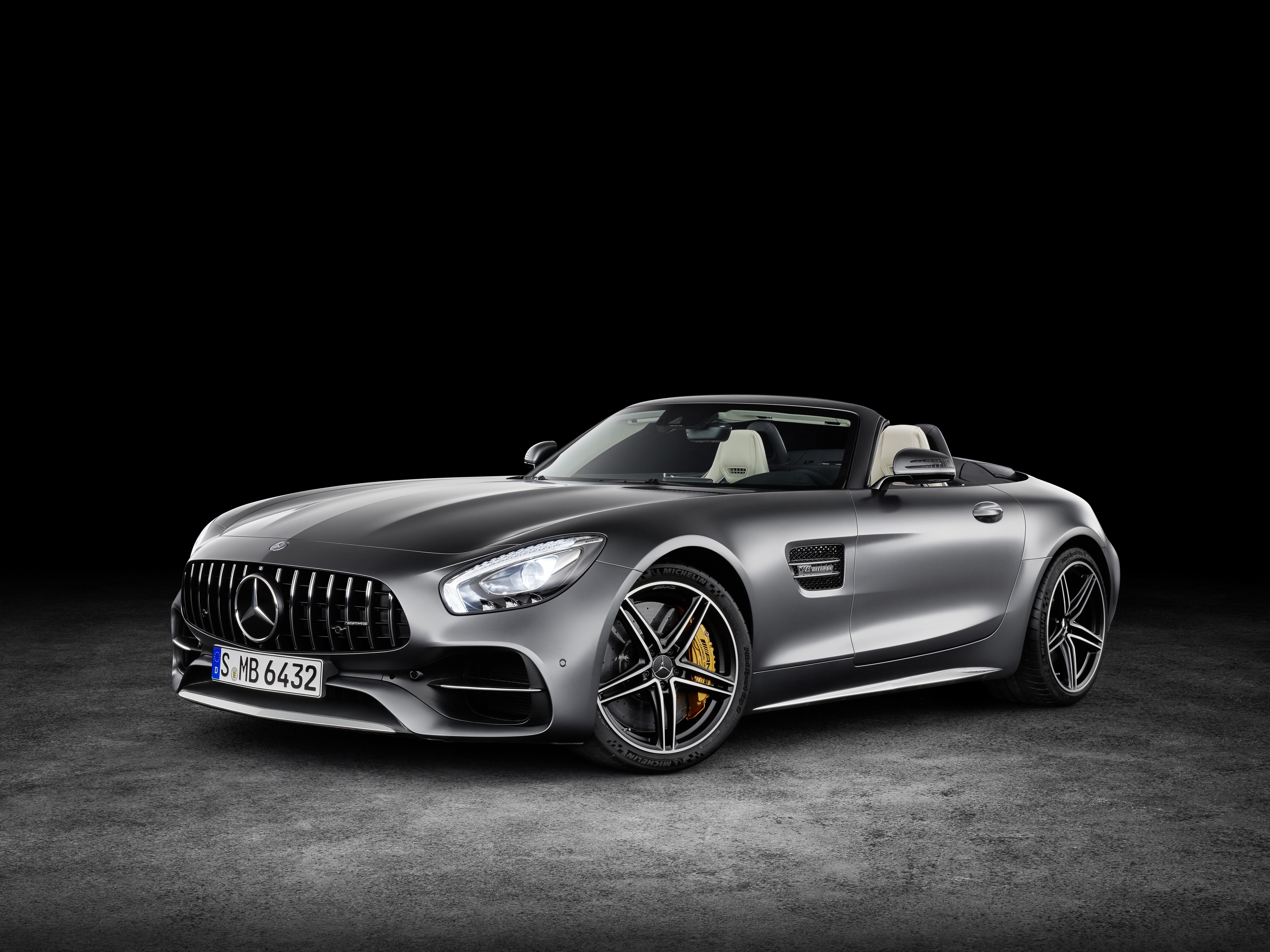 Hintergrundbilder 2018 Mercedes Amg Gt C Roadster