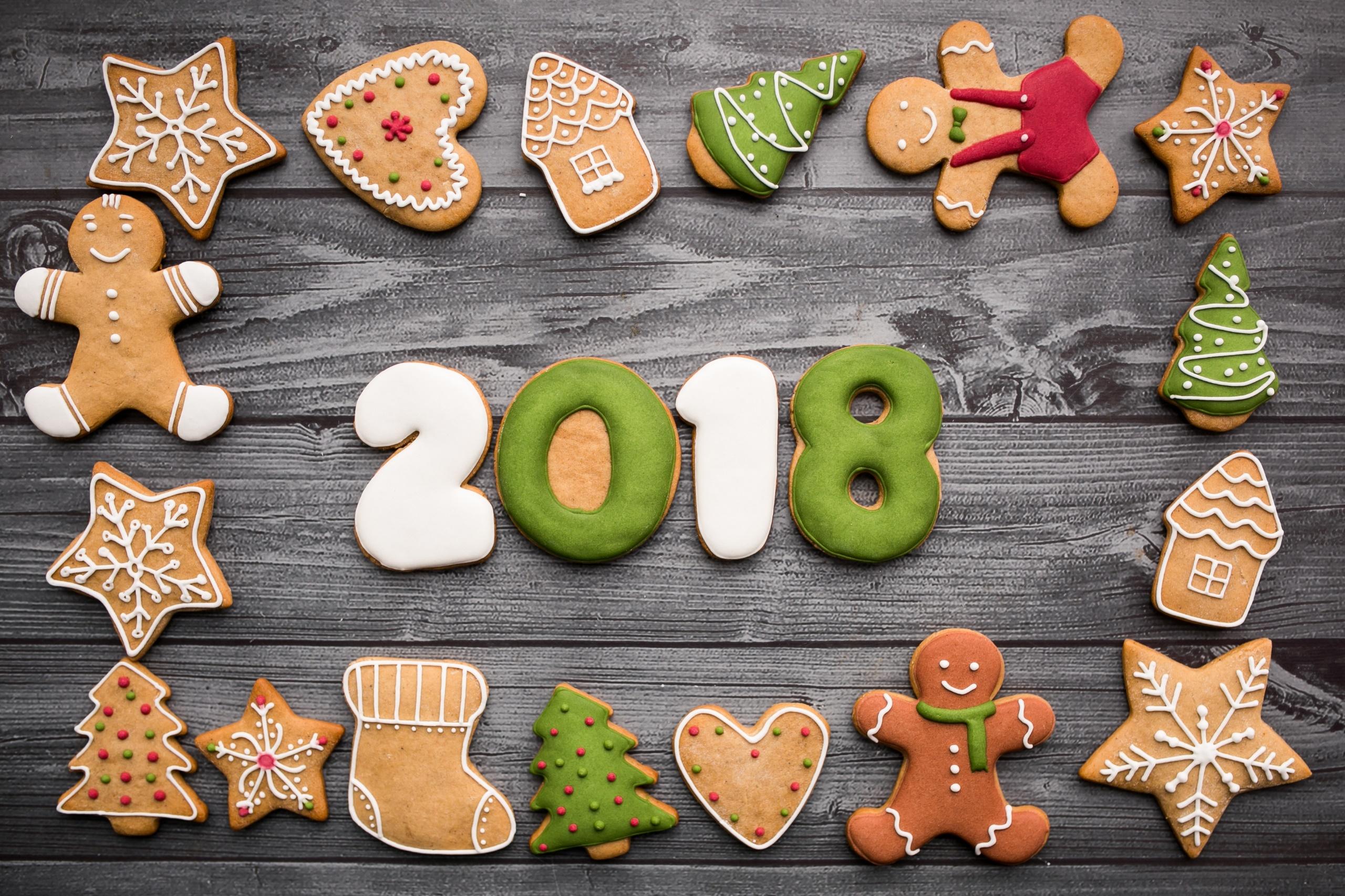 Fondos De Pantalla De Galletas: Fondos De Pantalla : 2018 Year, Comida, Dulces, Galletas