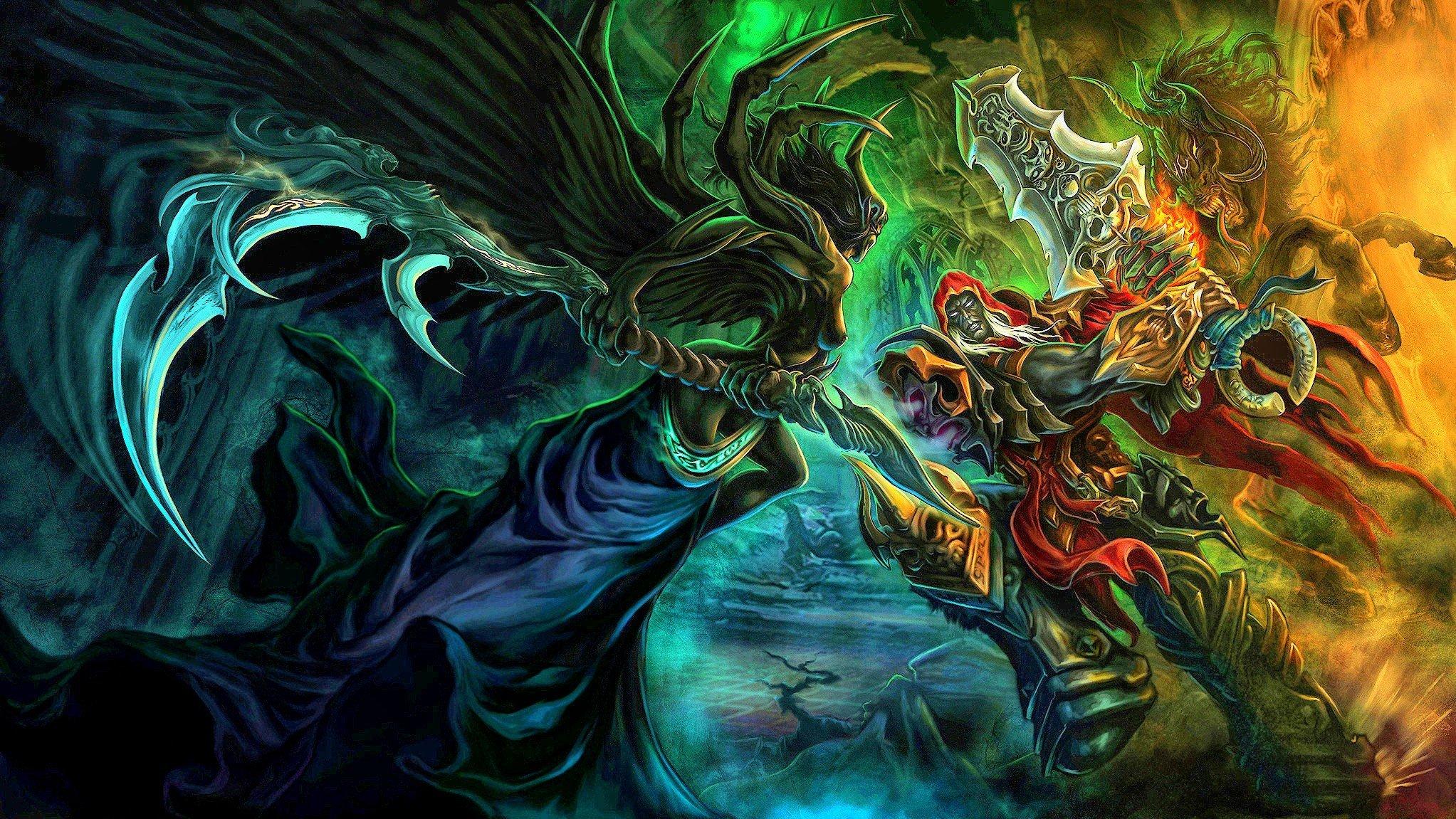 Wallpaper : 2045x1151 px, Darksiders, Four Horsemen of the
