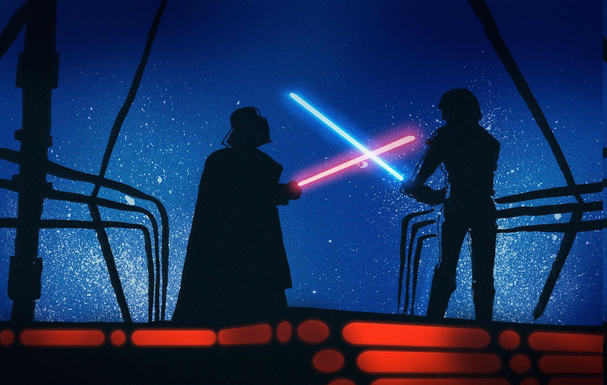 2046x1300 Px Anakin Skywalker Darth Vader Luke Star Wars