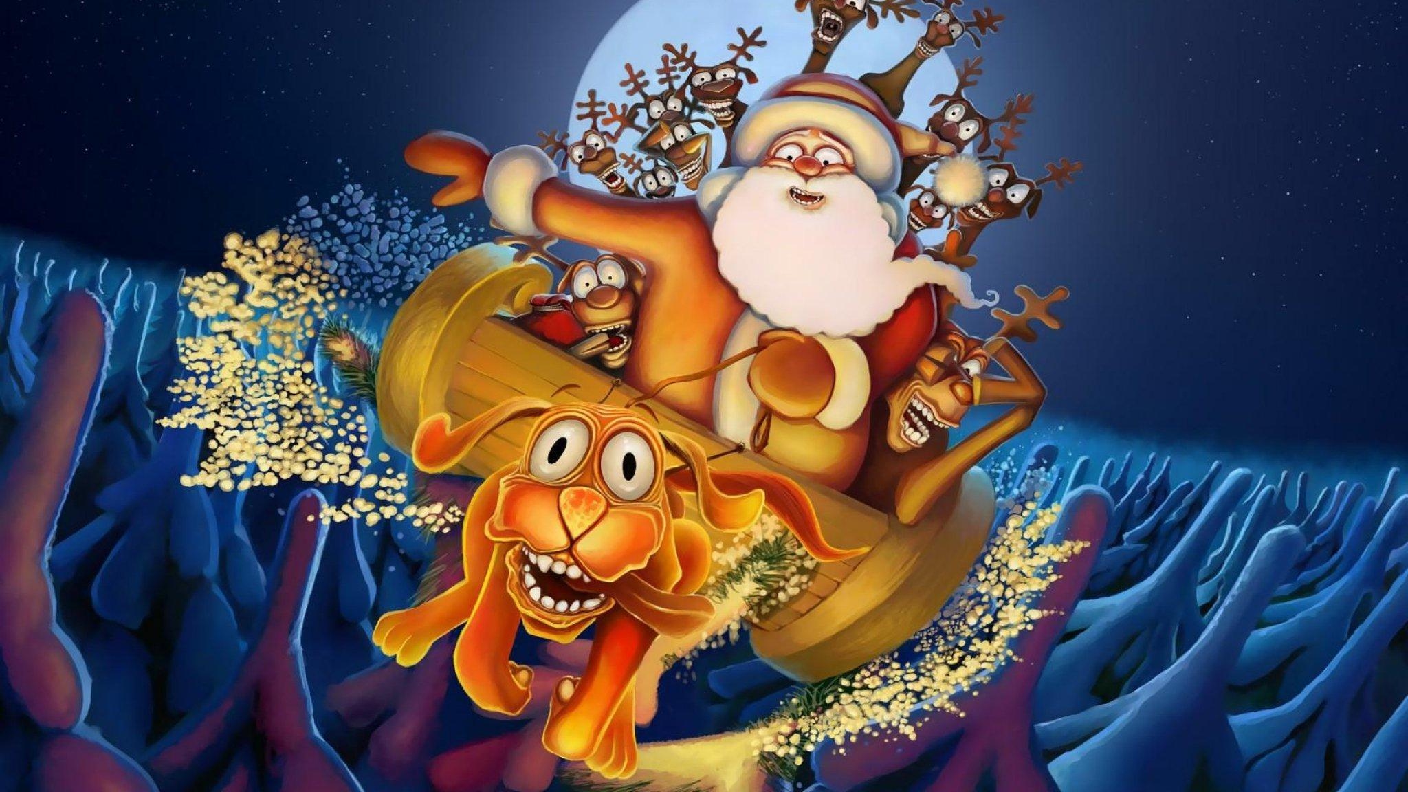 Обои На Телефон Дед Мороз