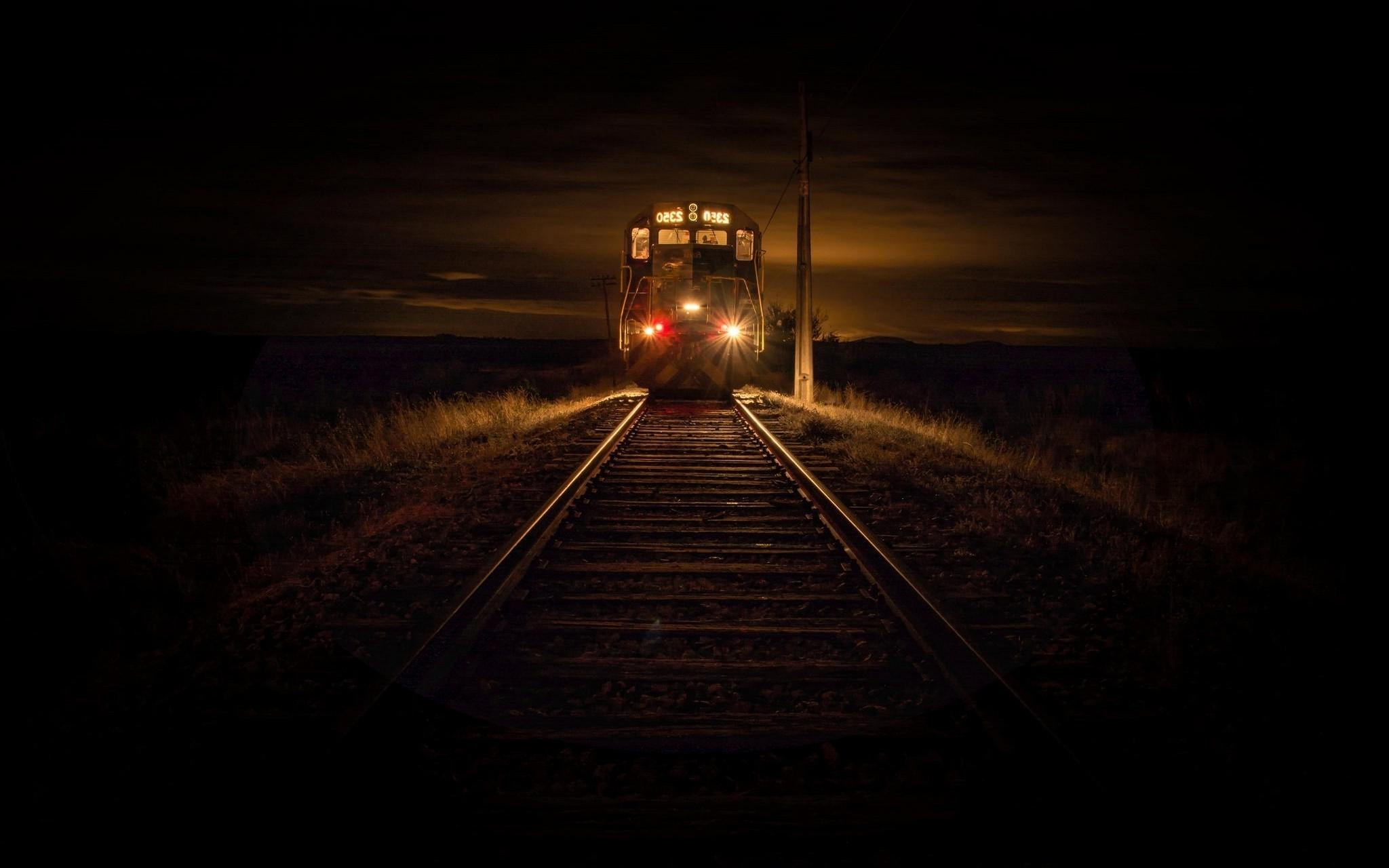 картинки темный фон лес железная дорога попробуйте