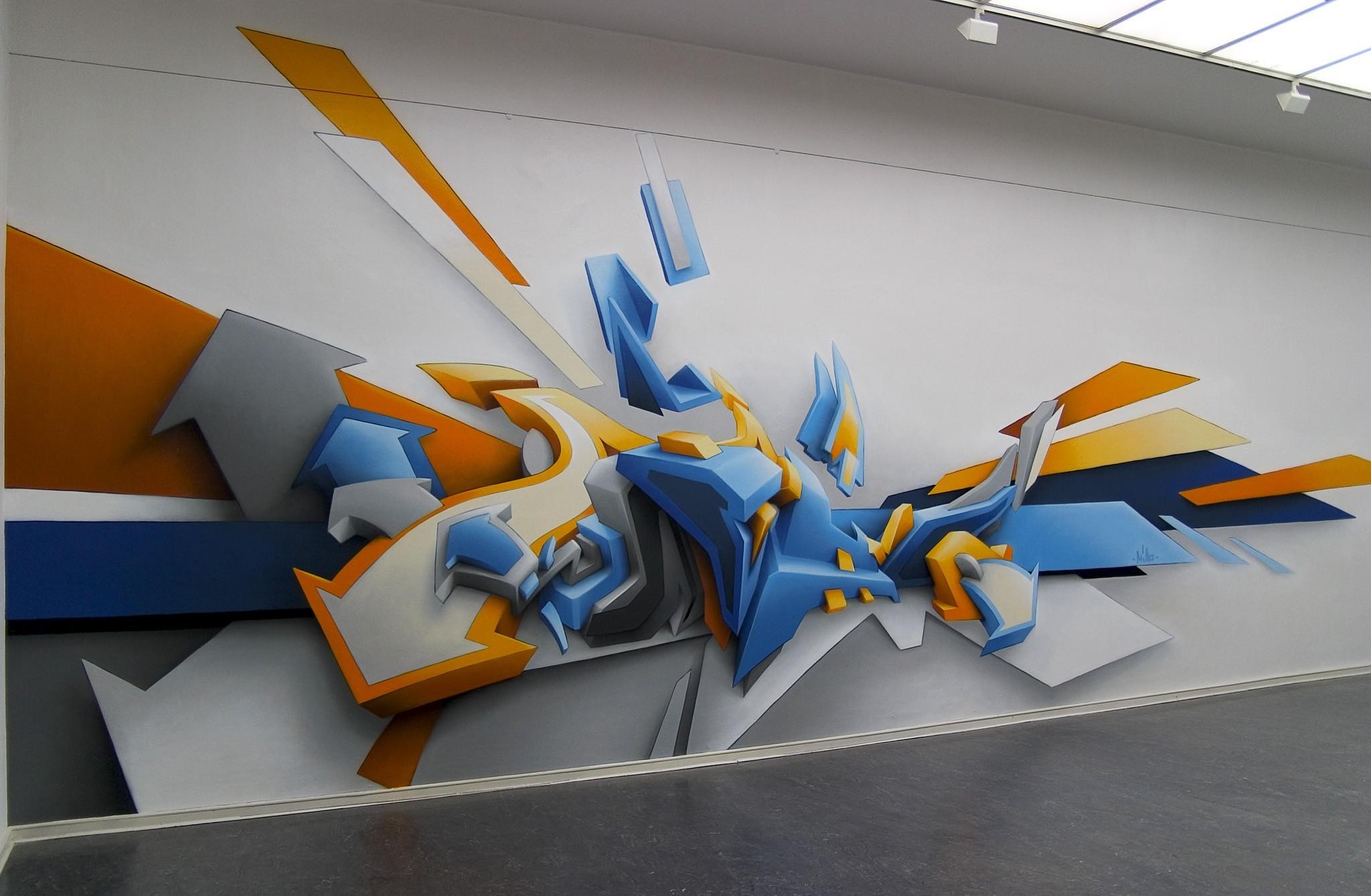 2048x1339 px 3d graffiti