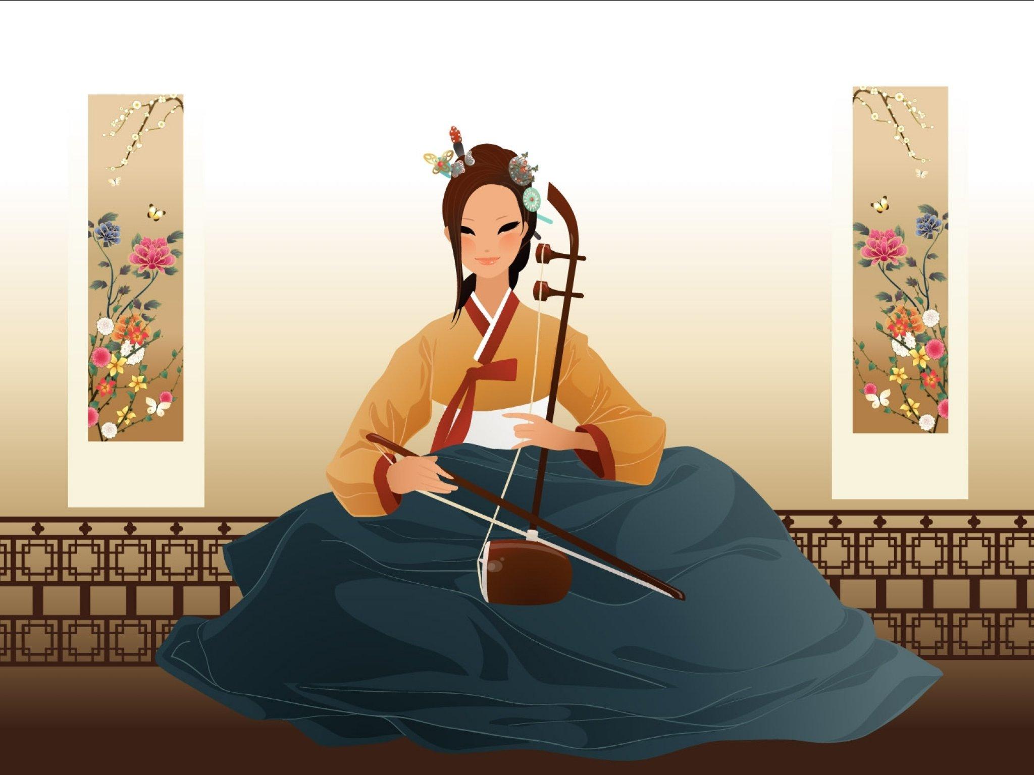Маме арт, корейские открытки с музыкой