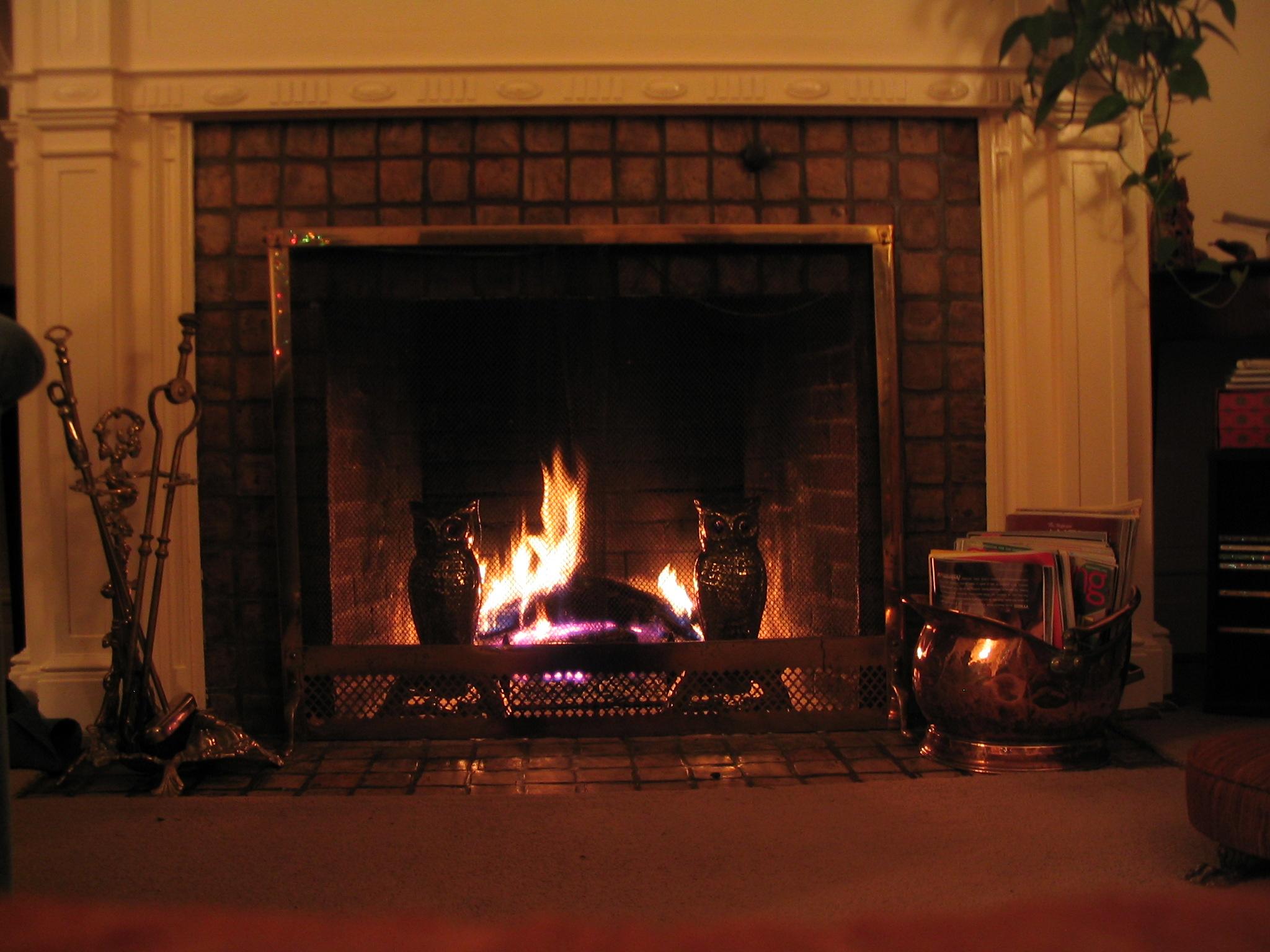 них красивые картинки с огнем в камине посмотрела эту