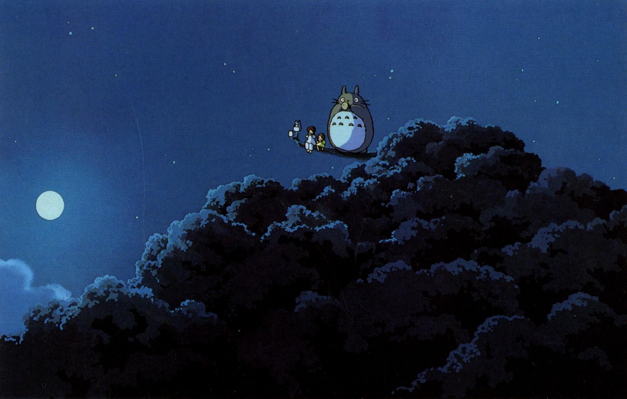 2080x1324 Px Anime Hayao Miyazaki My Neighbor Totoro