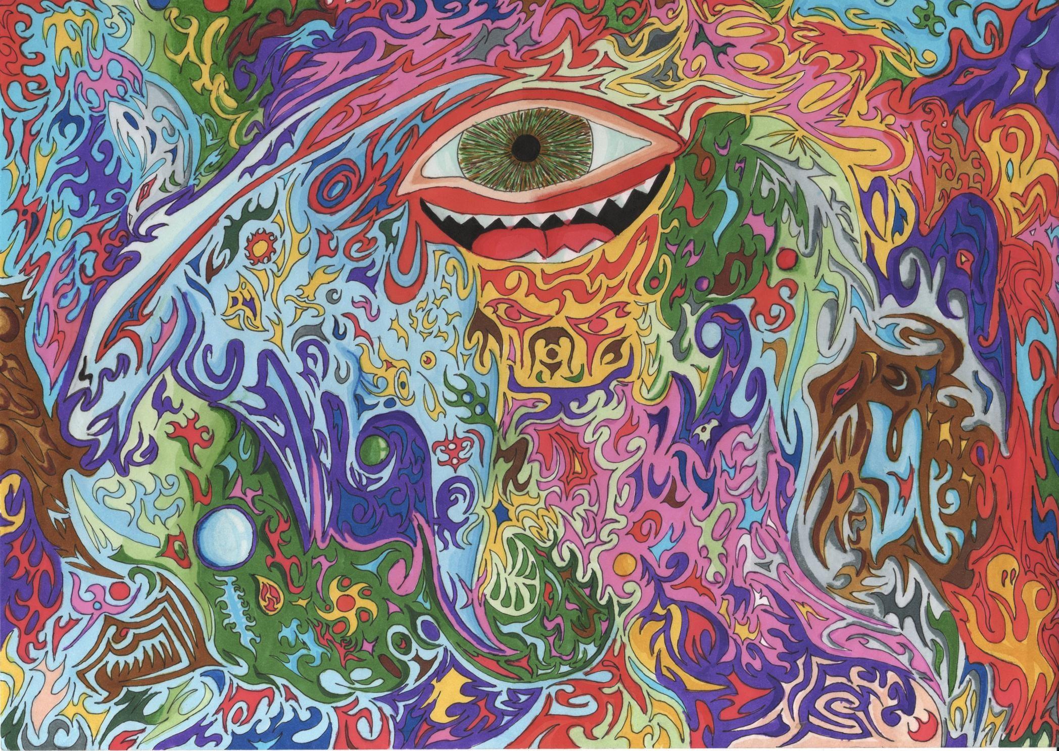 психоделические картинки что это любовь, надежда рядом