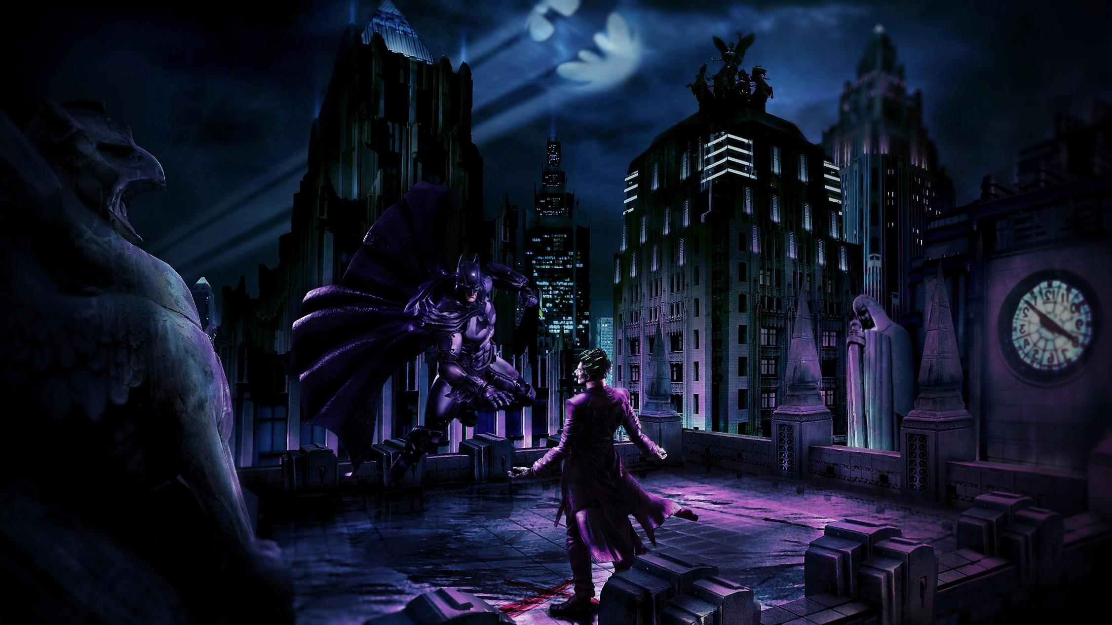 2253x1267 Px Adobe Photoshop Batman Comic Art Joker