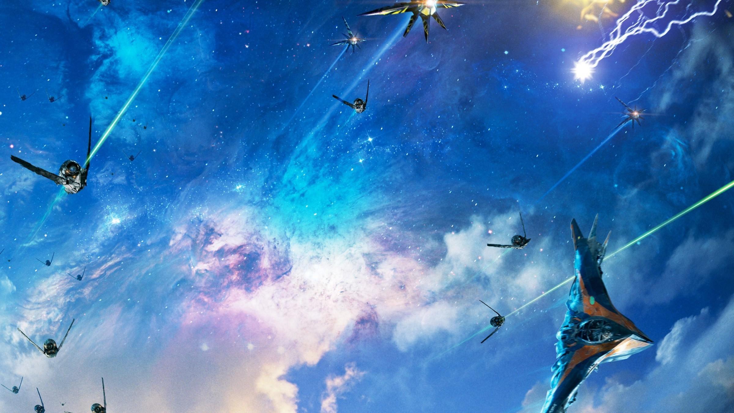 Wallpaper : 2400x1350 Px, Drax The Destroyer, Gamora