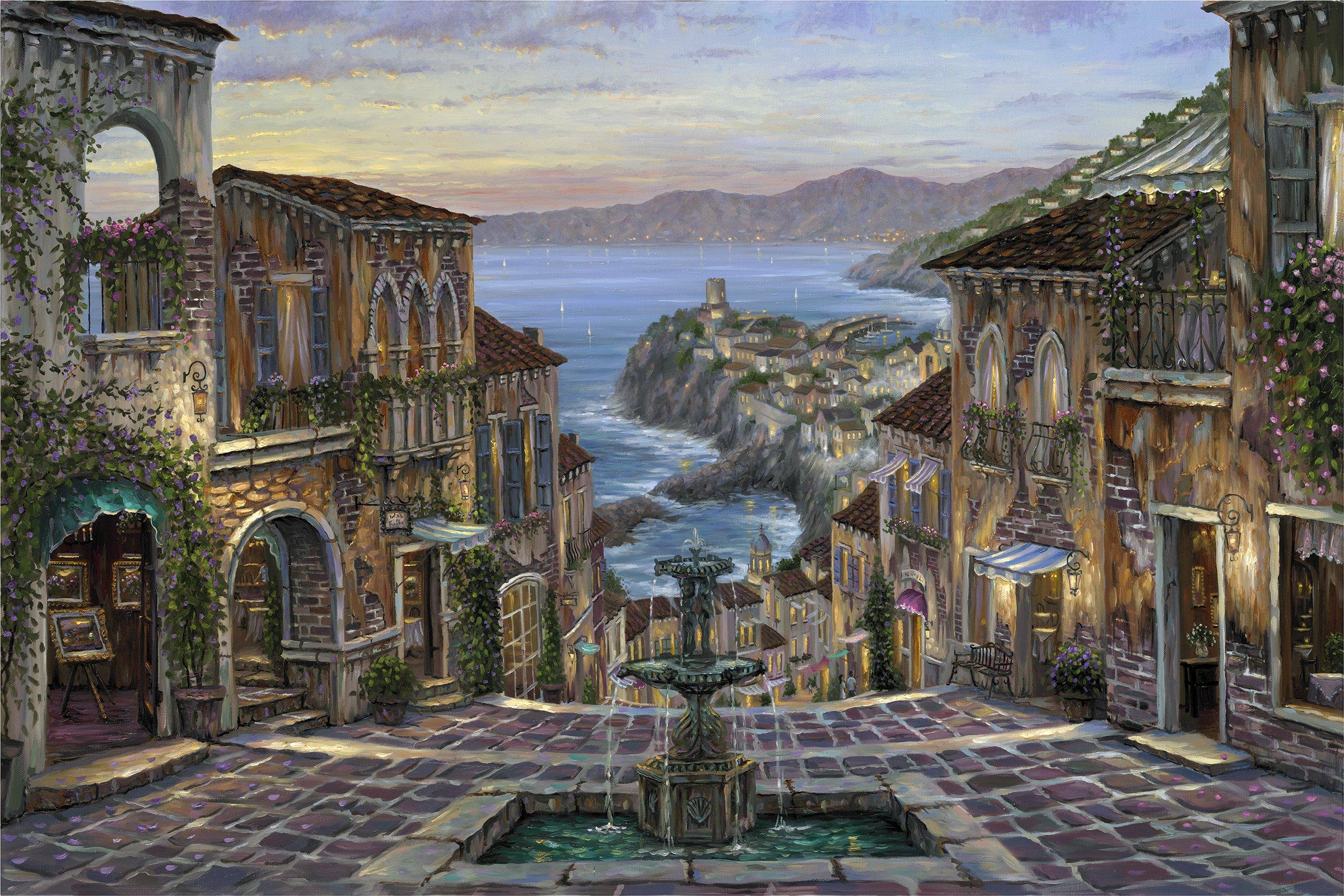 Красивые картинки древнего города ребенка школе