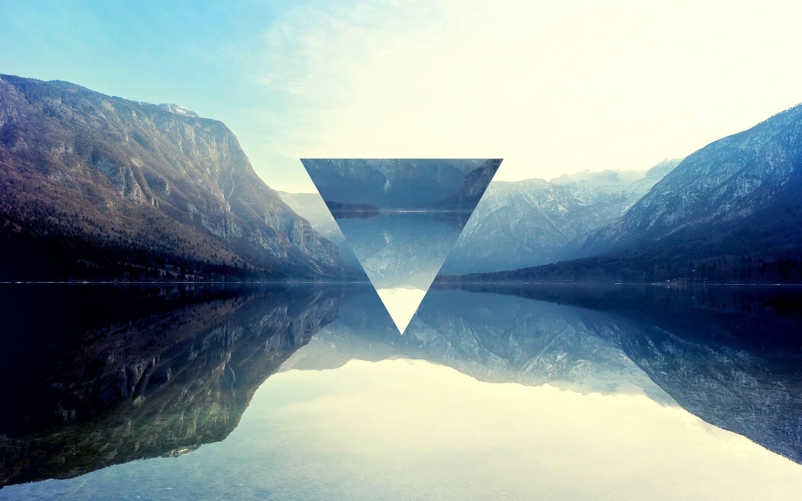 Beautiful Wallpaper Mountain Triangle - 2559x1599-px-lake-mountain-polyscape-reflection-triangle-652300  2018_40853.jpg