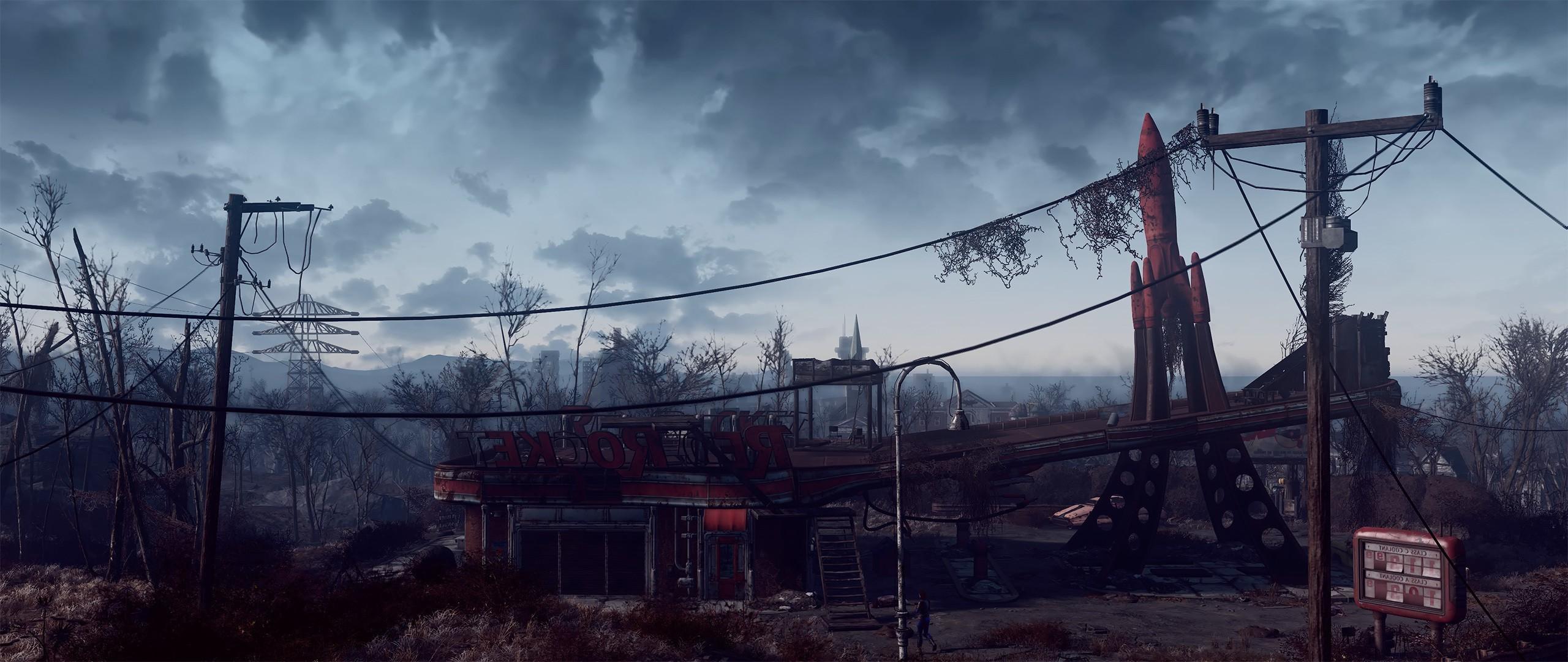 2560x1080 Px Fallout 4