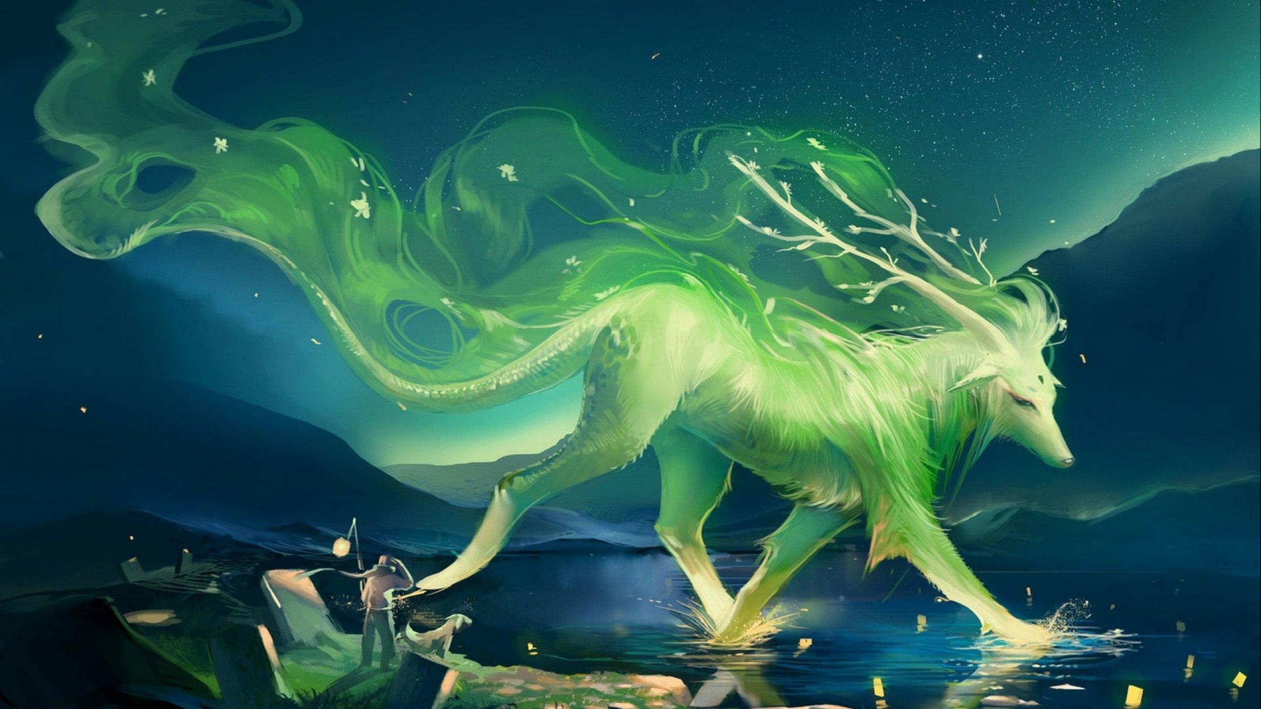 Картинка волшебных существ