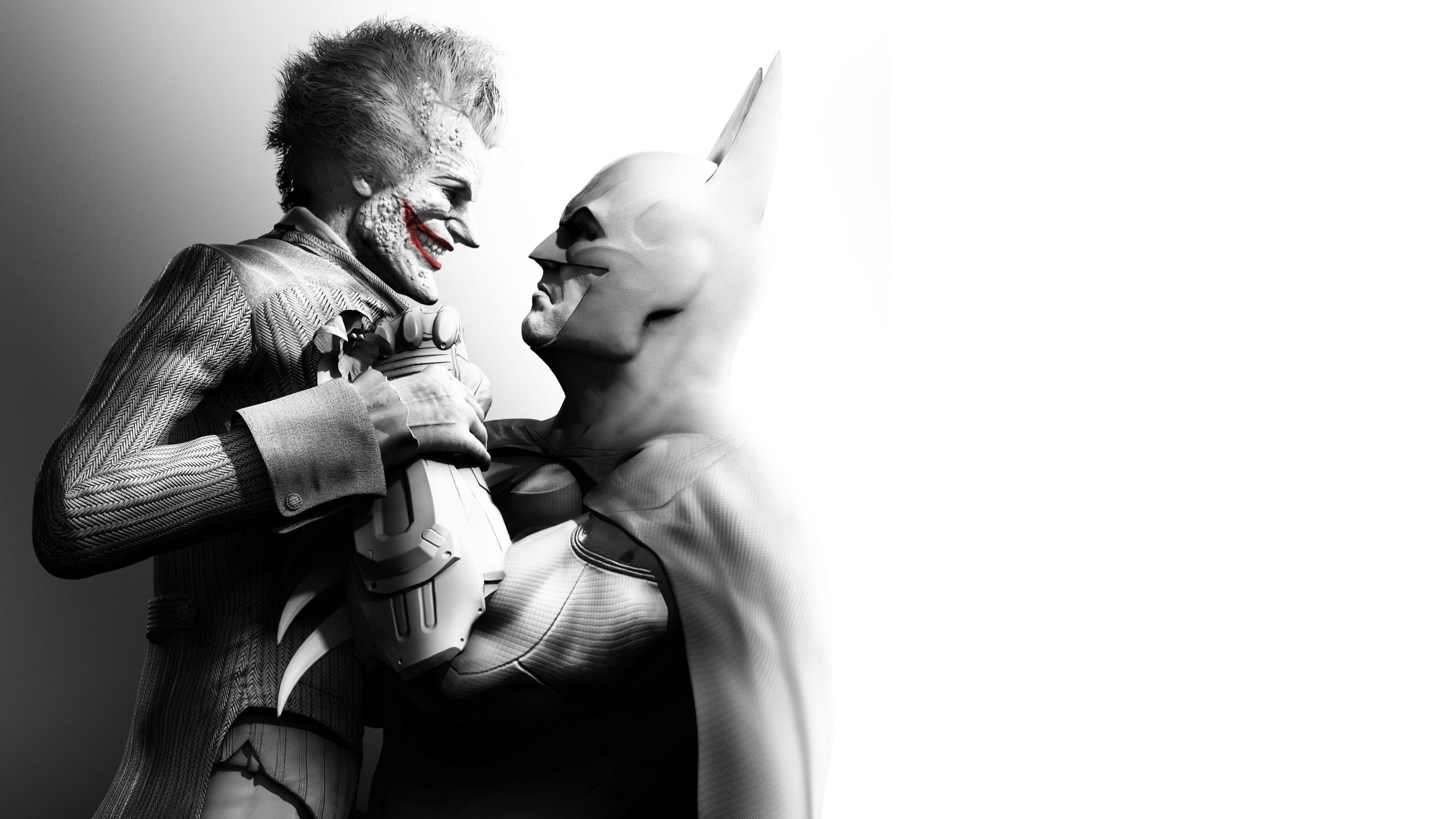 Wallpaper 2560x1440 Px Batman Arkham City Joker Video Games