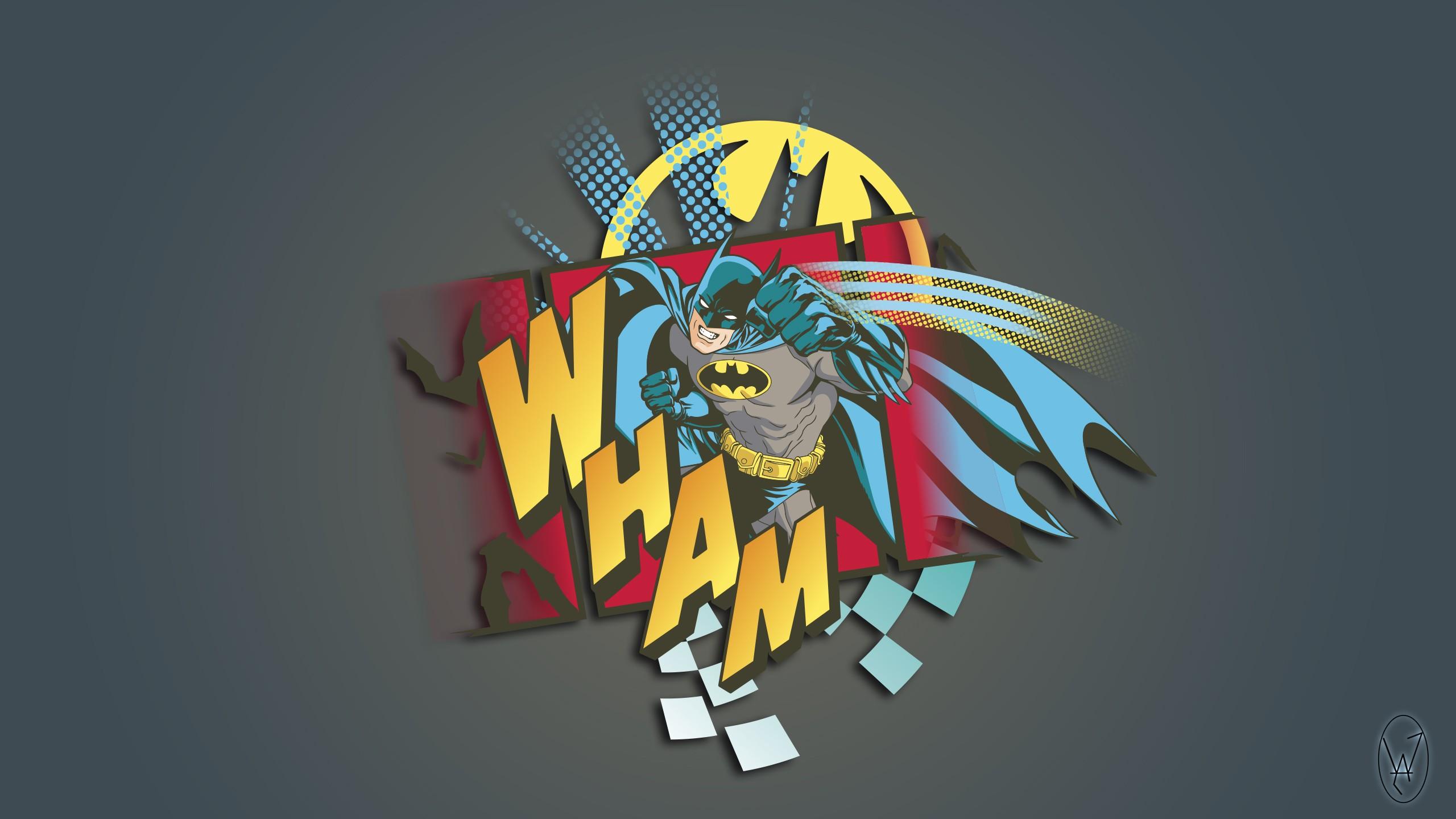 wallpaper : 2560x1440 px, batman, comics, logo, sketches 2560x1440