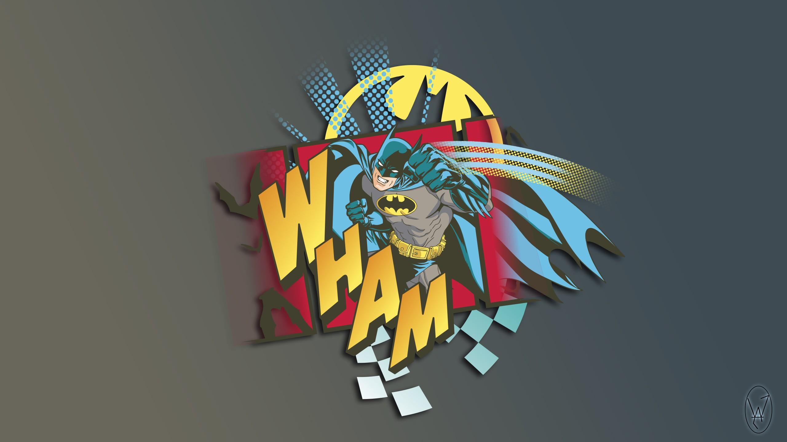 Wallpaper 2560x1440 Px Batman Comics Logo Sketches