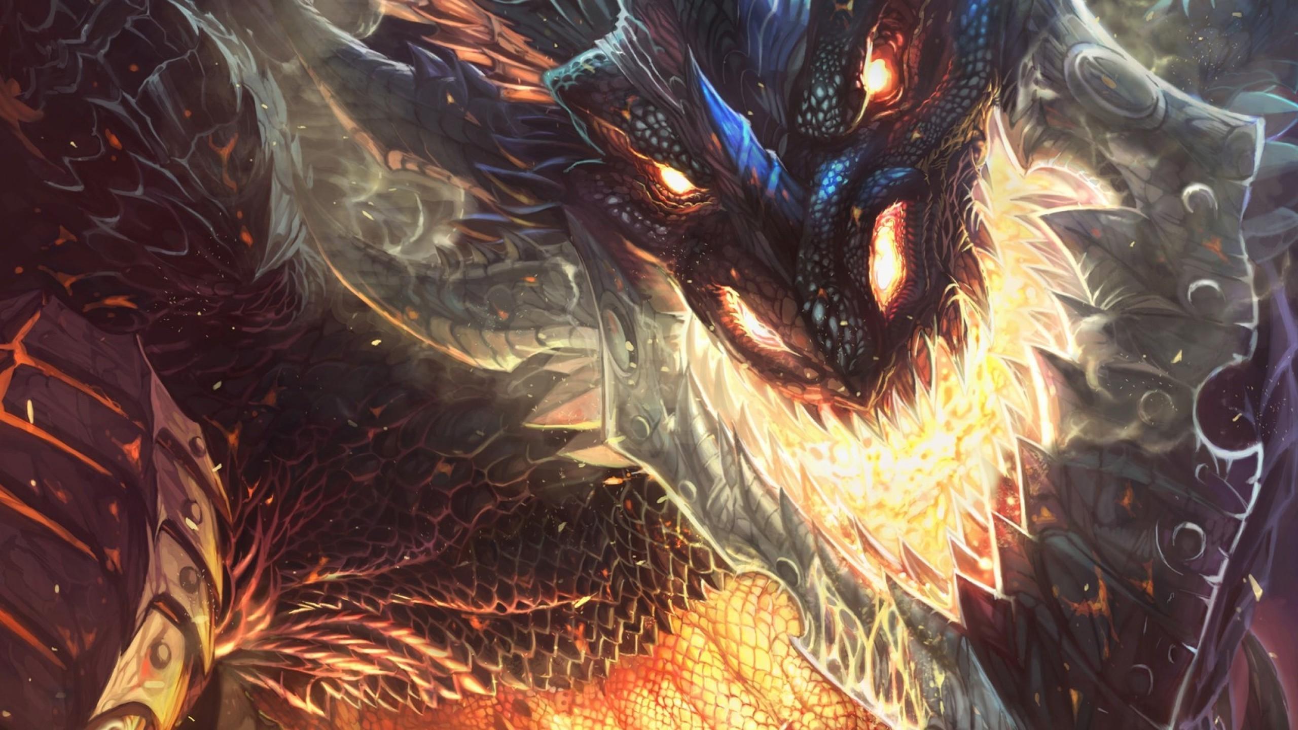 Wallpaper 2560x1440 Px Deathwing Dragon World Of