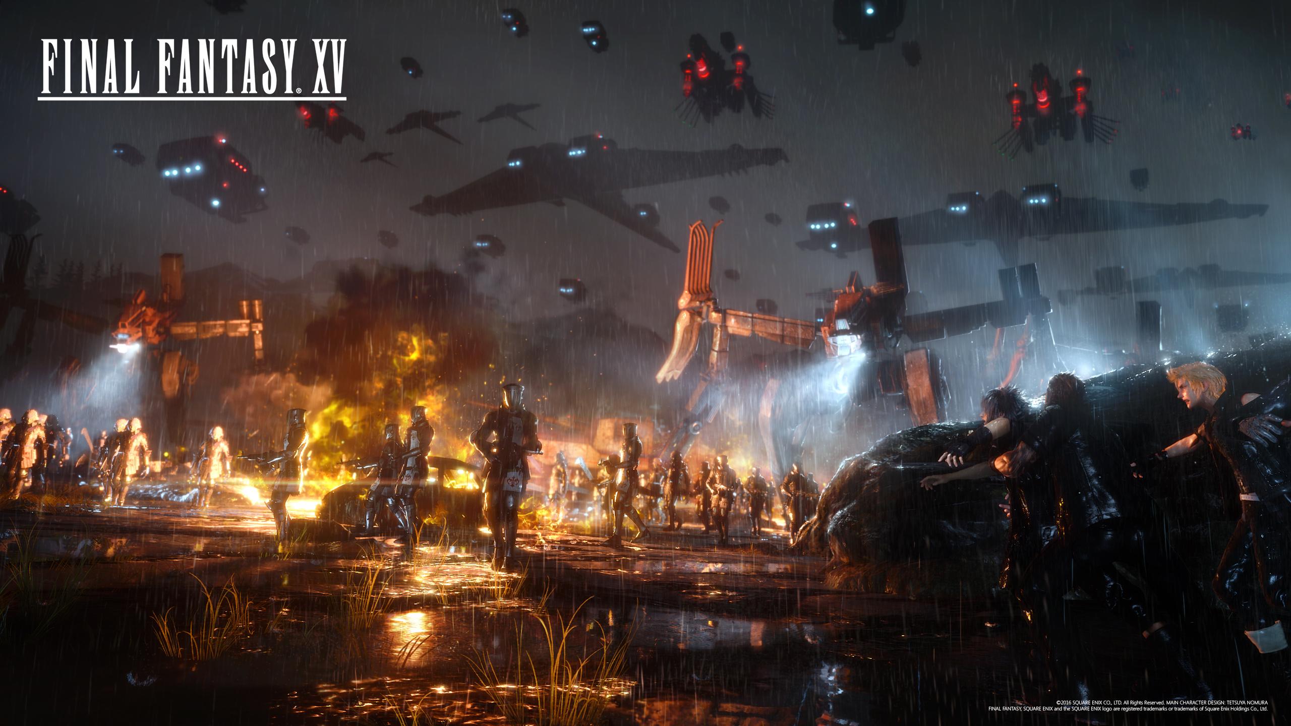 2560x1440 px, Final Fantasy XV