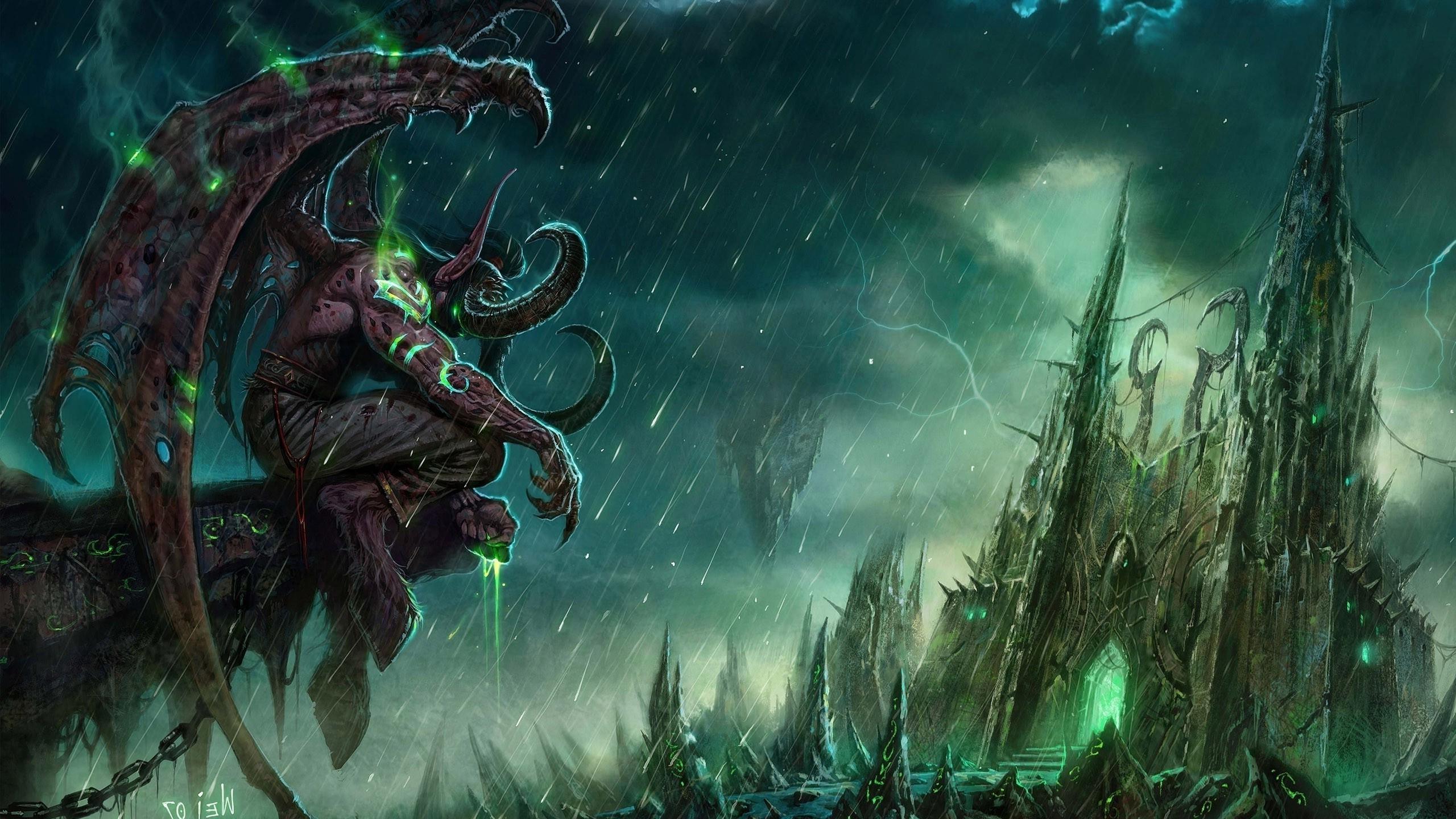 Wallpaper 2560x1440 Px World Of Warcraft The Burning Crusade