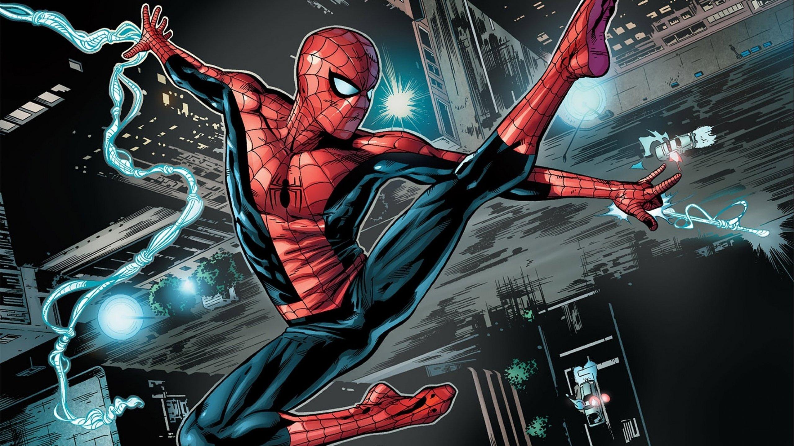 Wallpaper 2560x1440 Px Action Man Marvel Spider Spiderman
