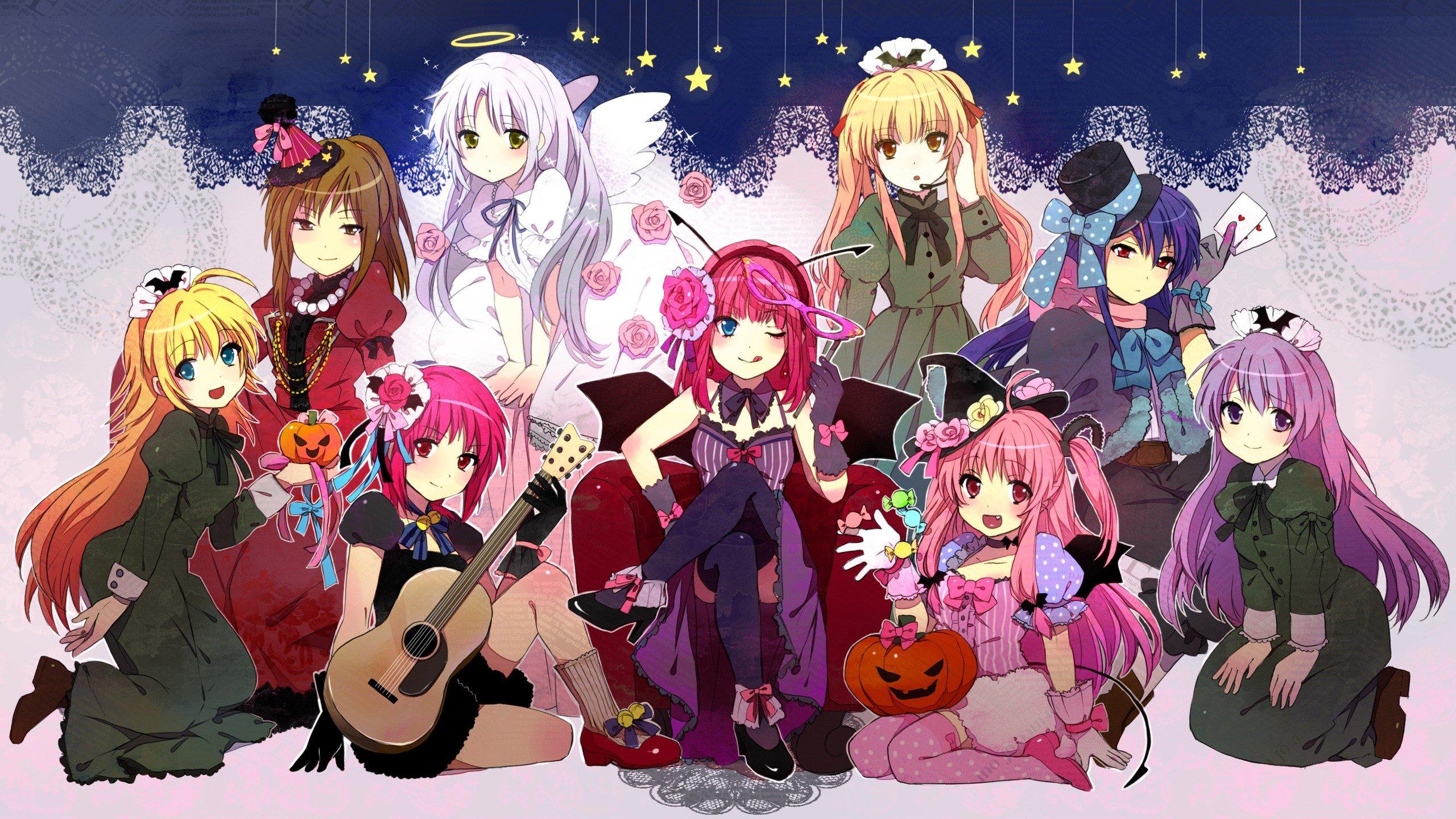 Картинки с персонажами аниме, новогодней открытке