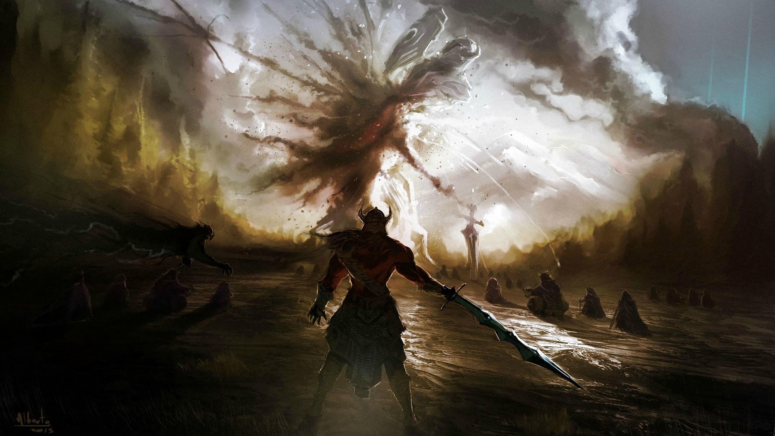 fantasy battle art wwwpixsharkcom images galleries