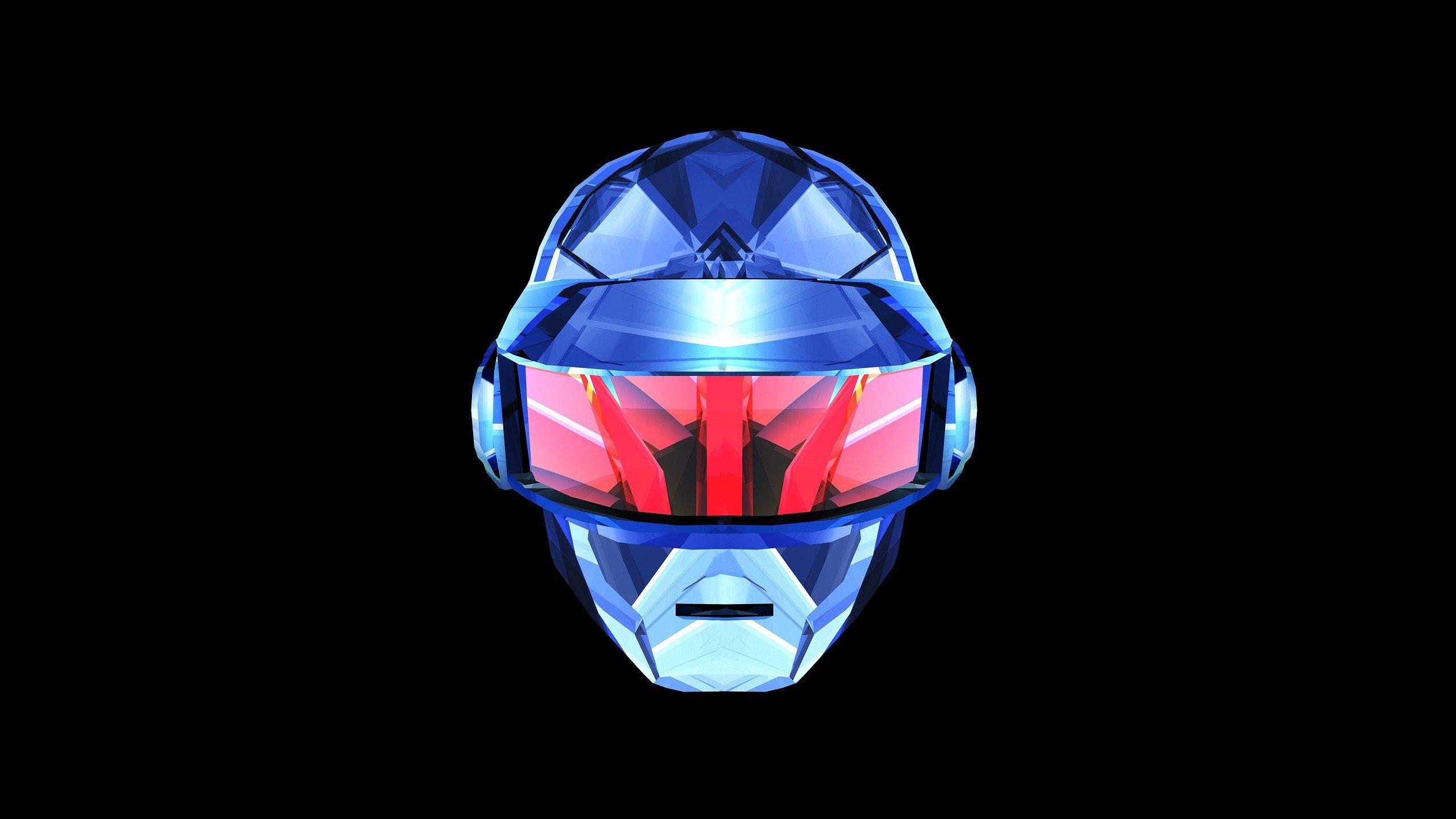 2560x1440 Px Black Daft Punk Music Pink Silver