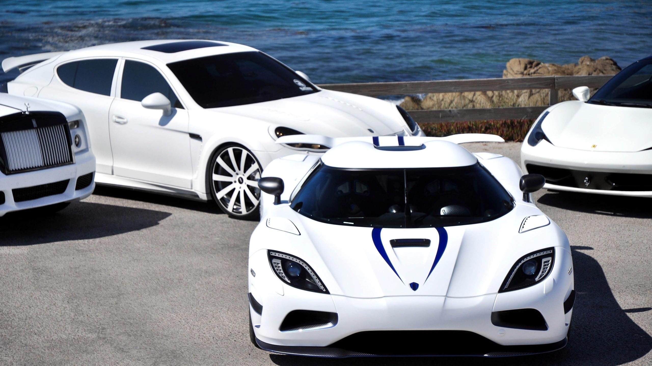 Wallpaper 2560x1440 Px Car Ferrari Luxury Cars Porsche Rolls