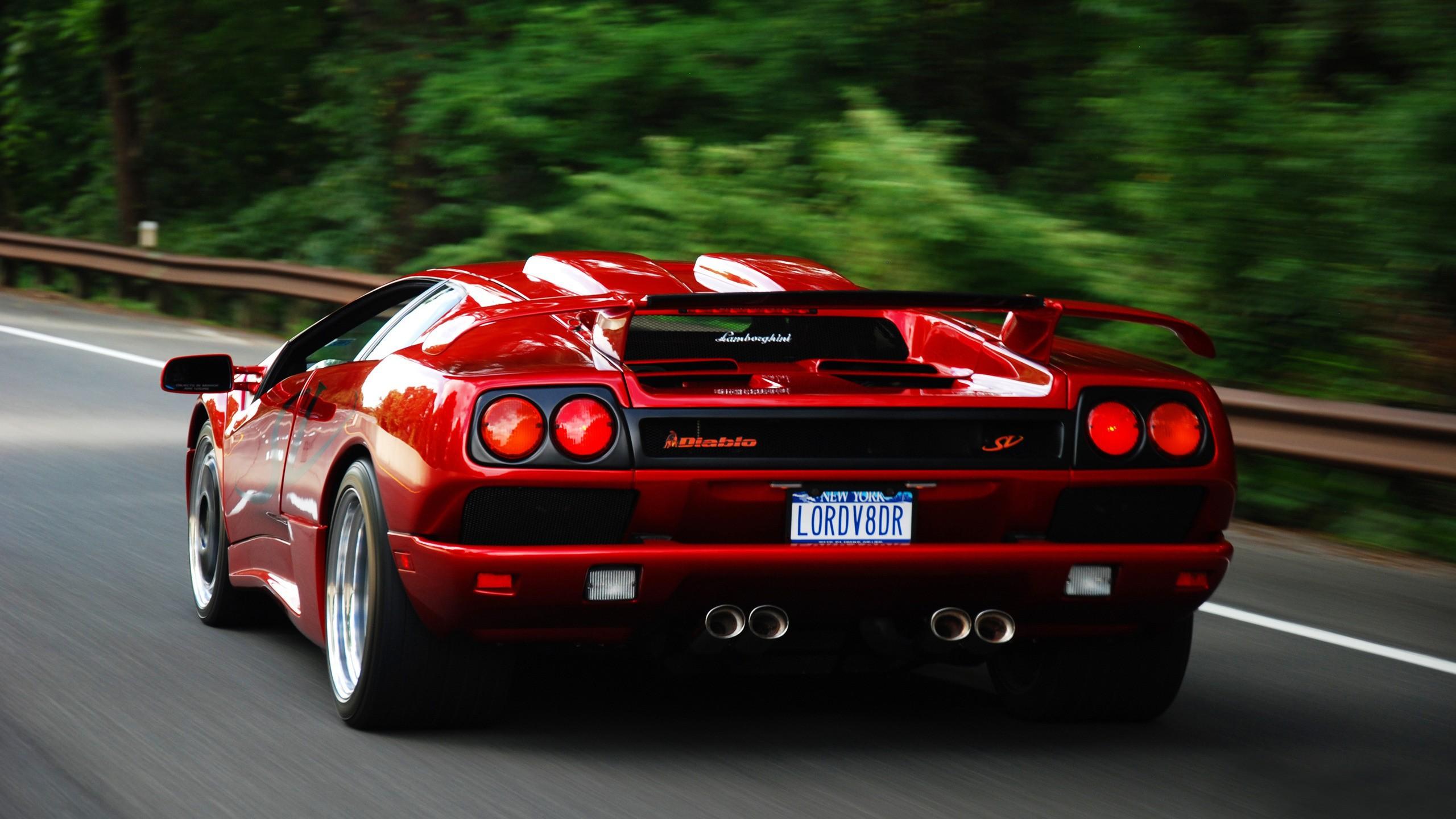 Hinh Nền 2560x1440 Px Xe Hơi Lamborghini Diablo Lamborghini