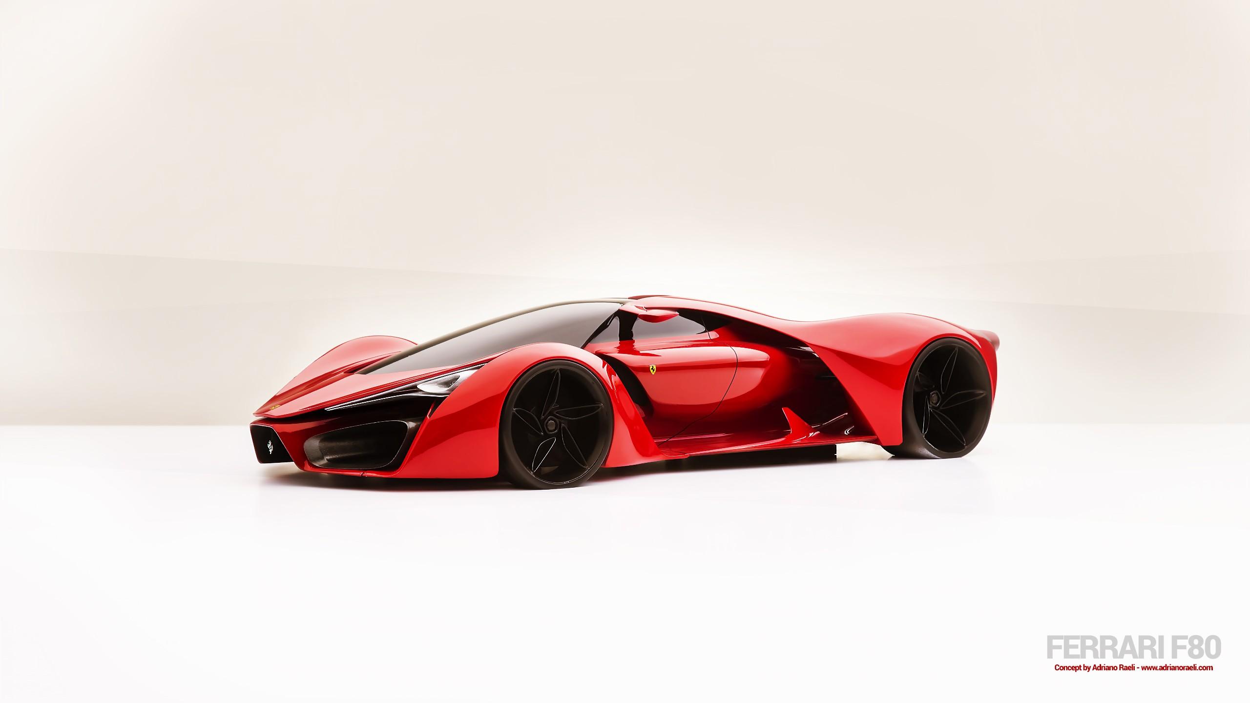 Wallpaper 2560x1440 Px Concept Art Concept Cars Ferrari F80