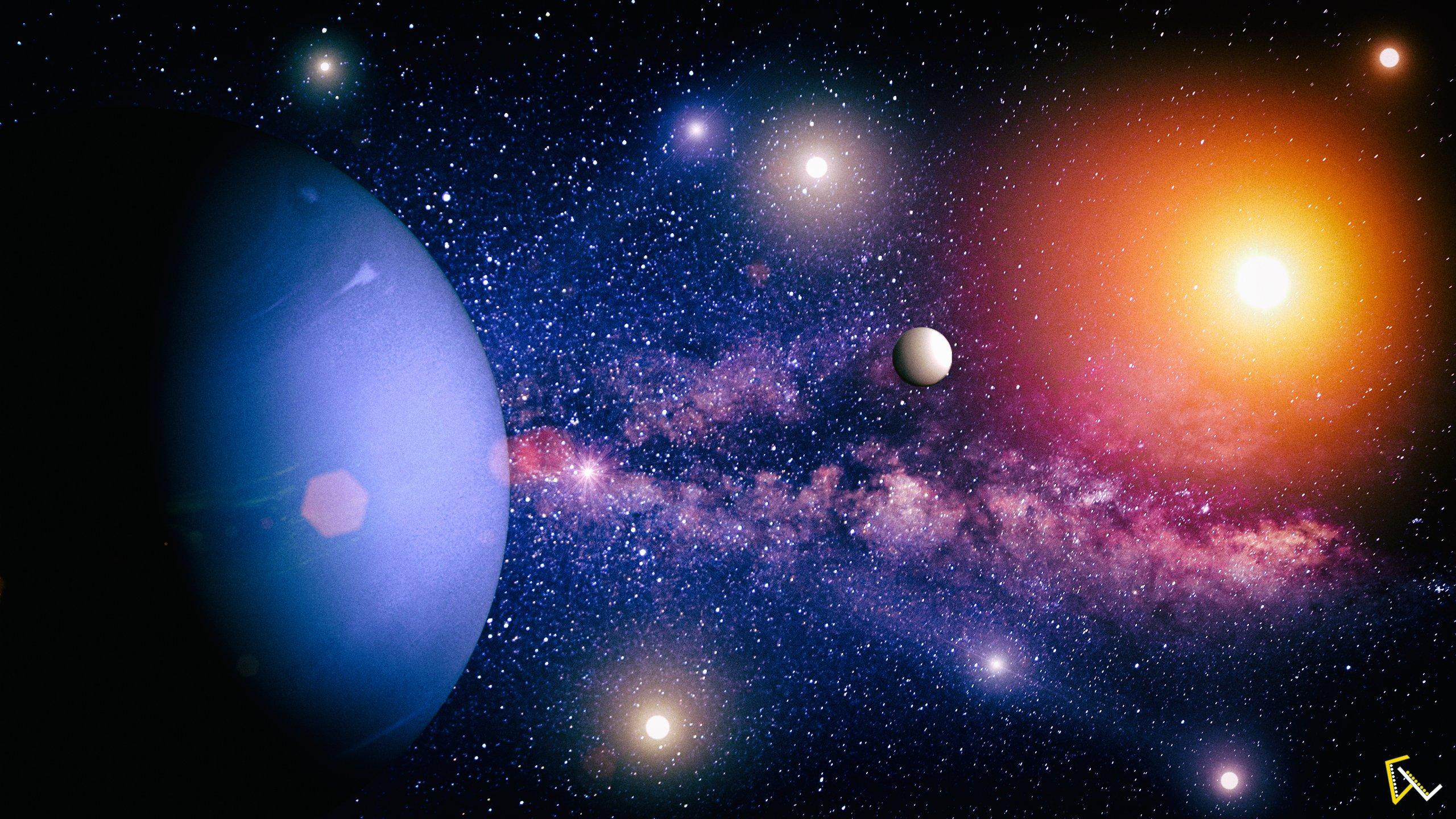 Нептун красивые картинки
