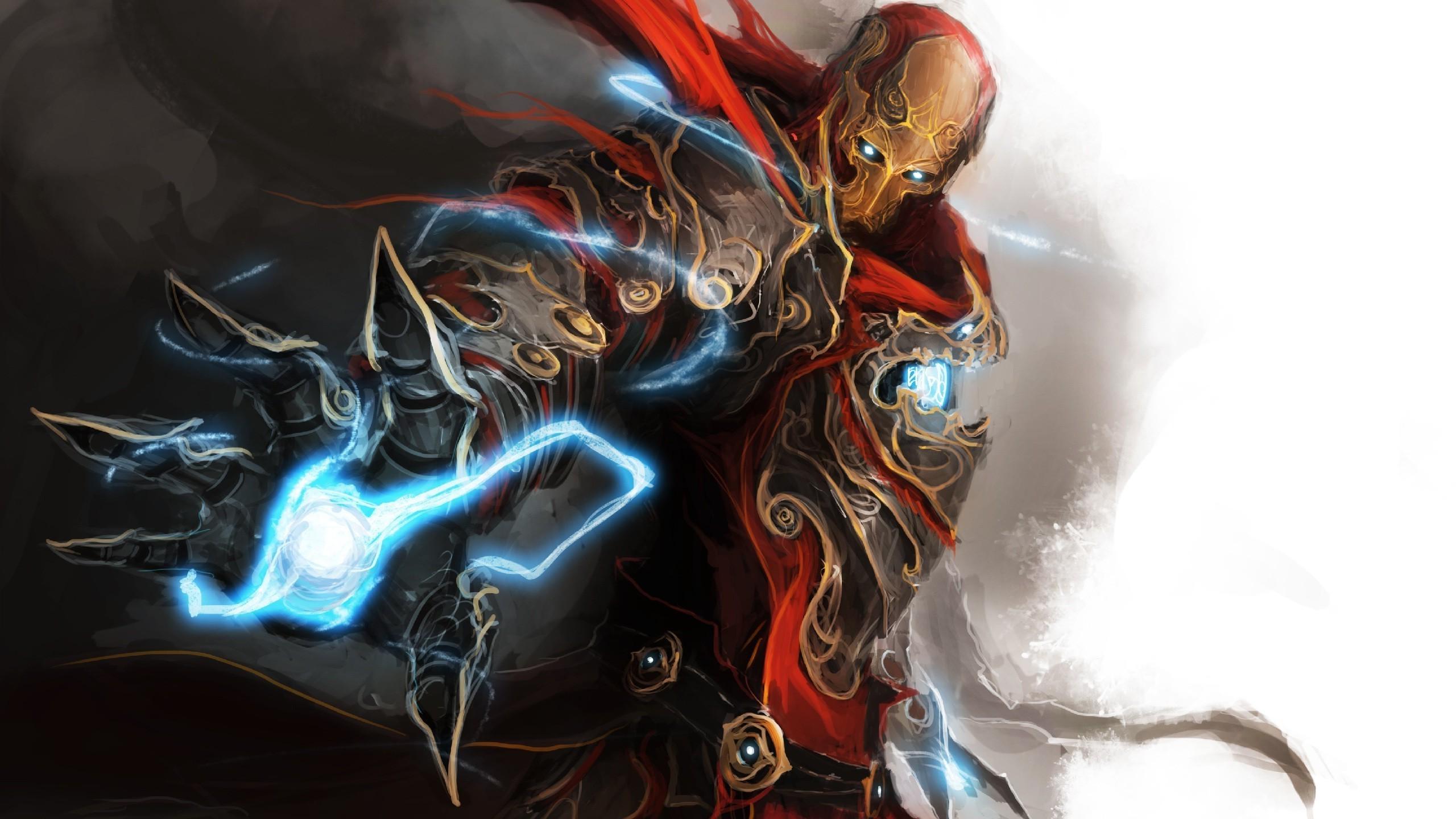 Wallpaper 2560x1440 Px Fantasy Art Iron Man 2560x1440 Wallup 1028914 Hd Wallpapers Wallhere