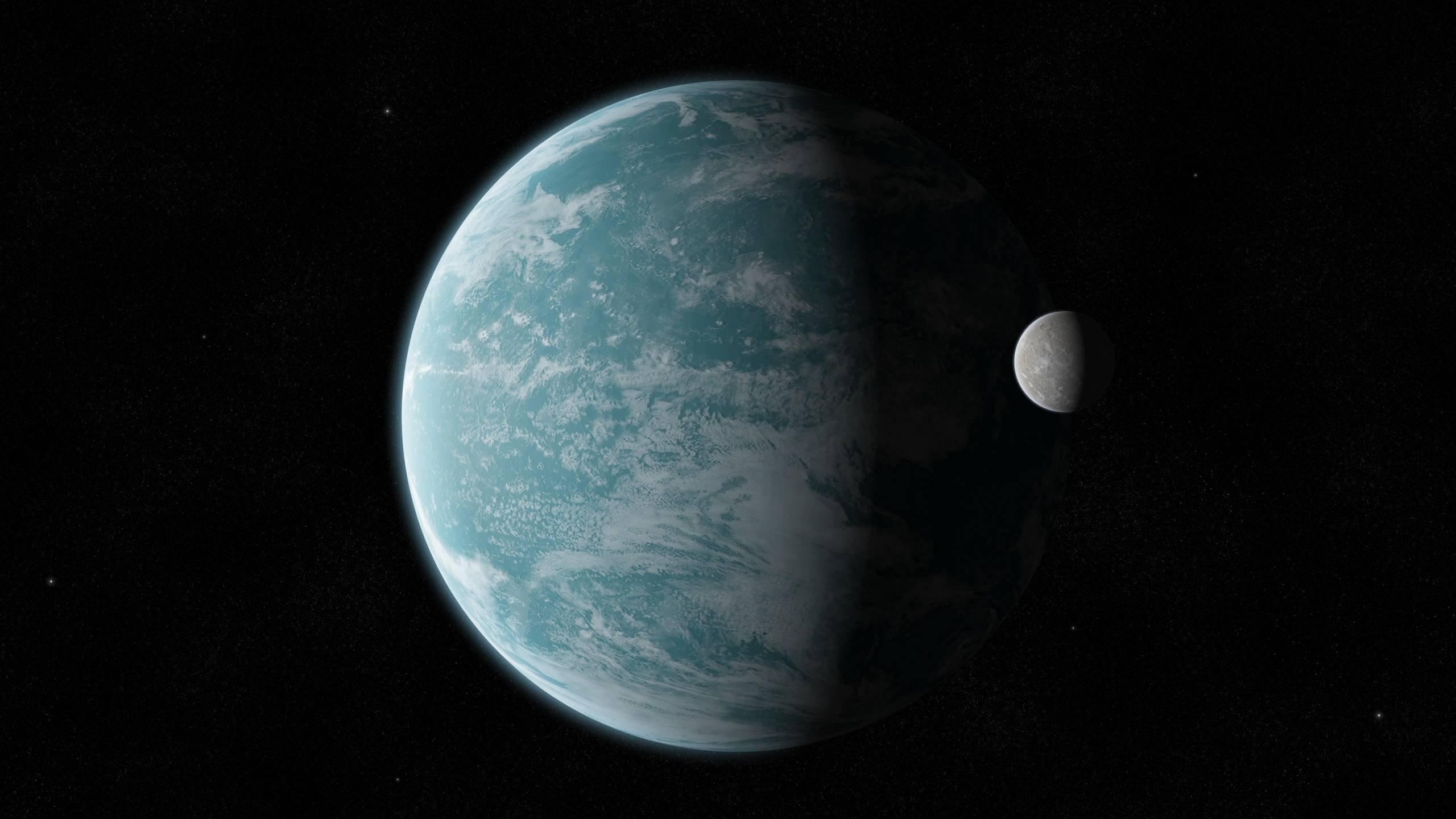 фото экзопланеты с кеплера поверхность