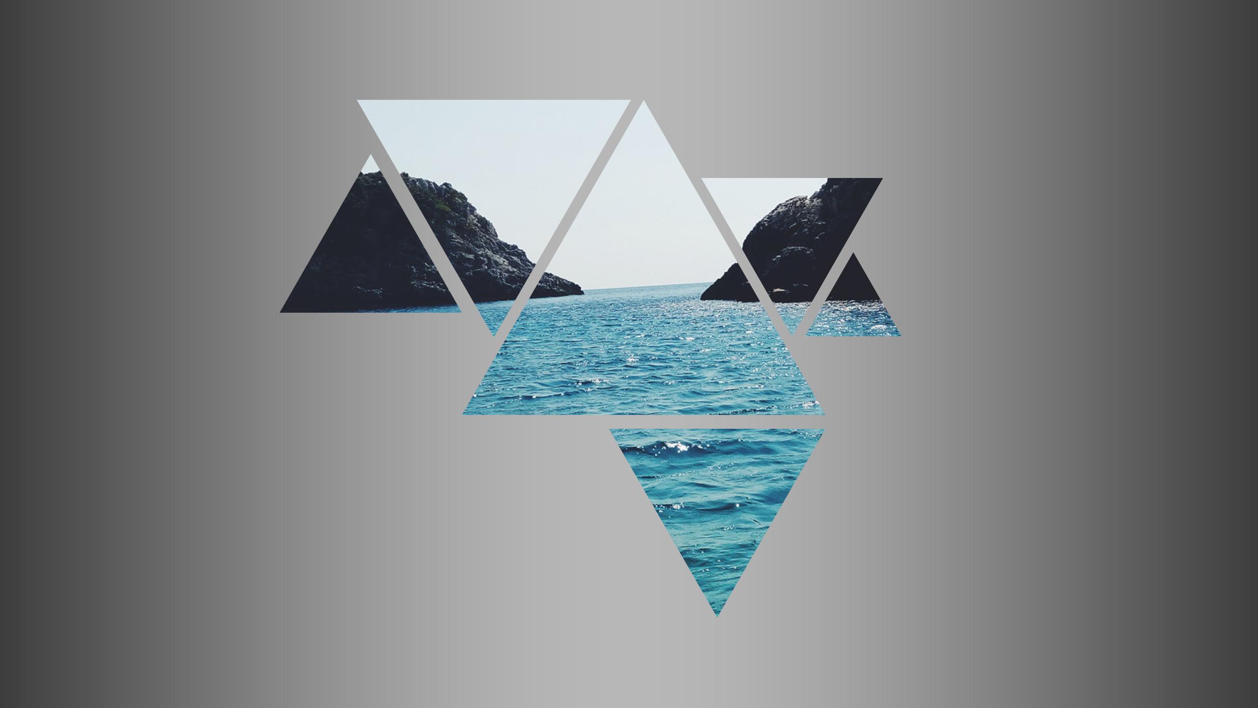 красивые картинки в треугольниках примере