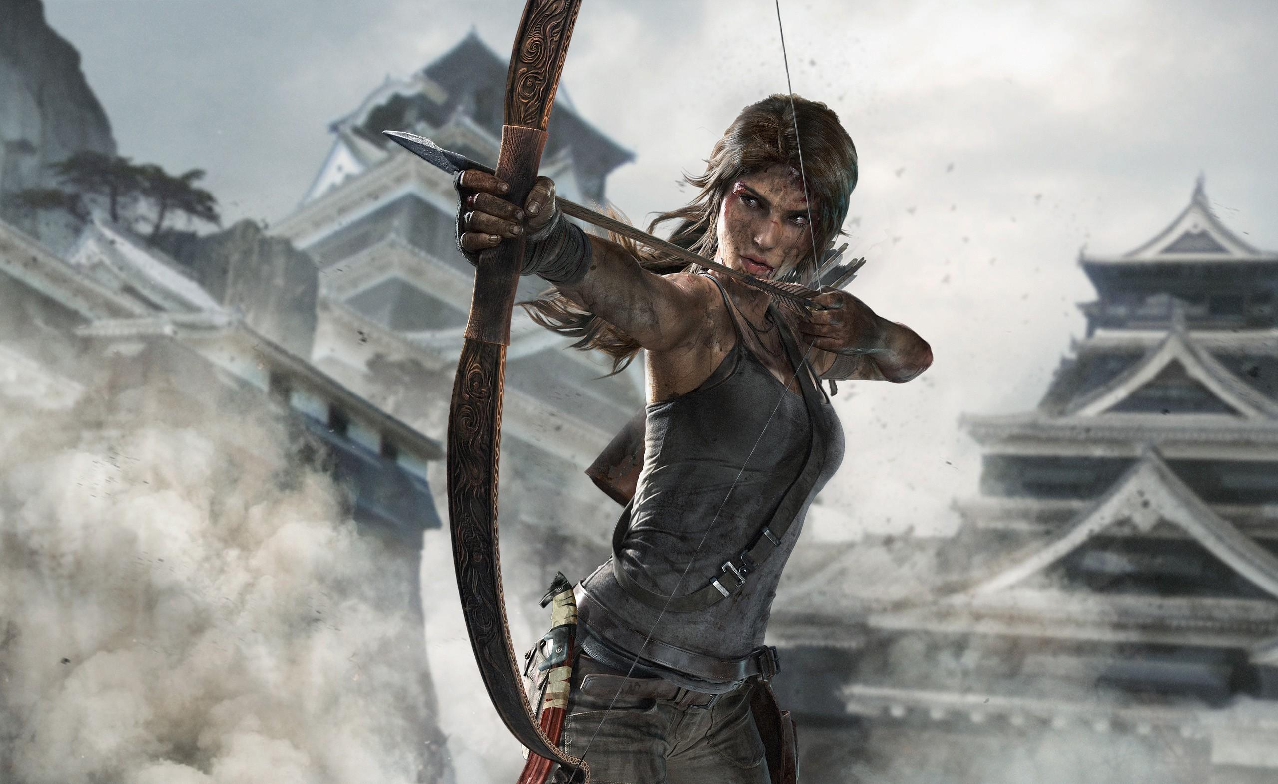 Wallpaper 2560x1572 Px Lara Croft Tomb Raider 2560x1572
