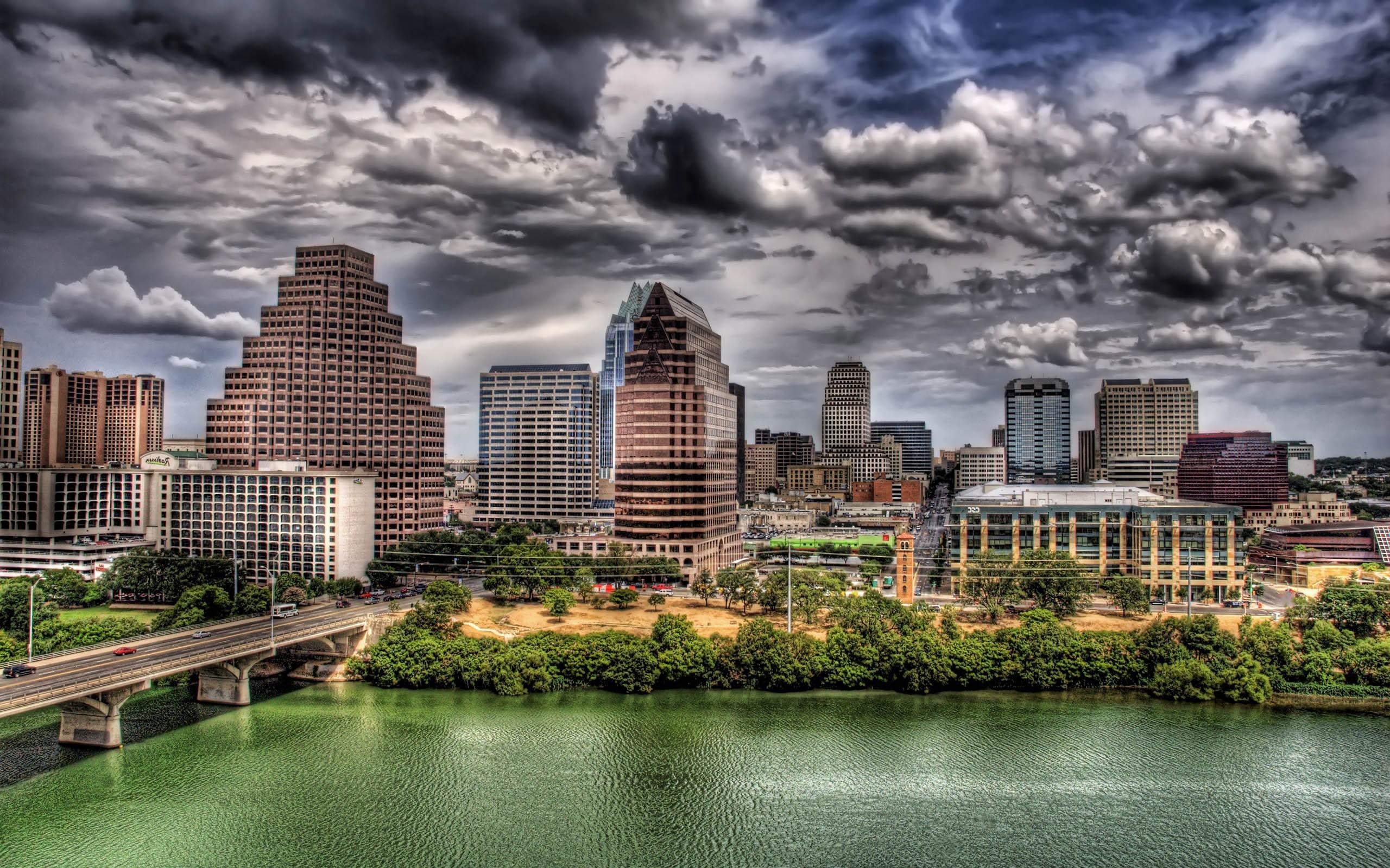 Wallpaper 2560x1600 Px Austin Texas Building Cityscape